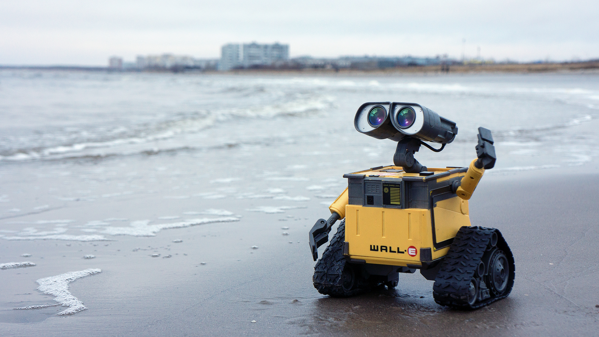 Pictures Wall E Water Coast Toy 1920x1080