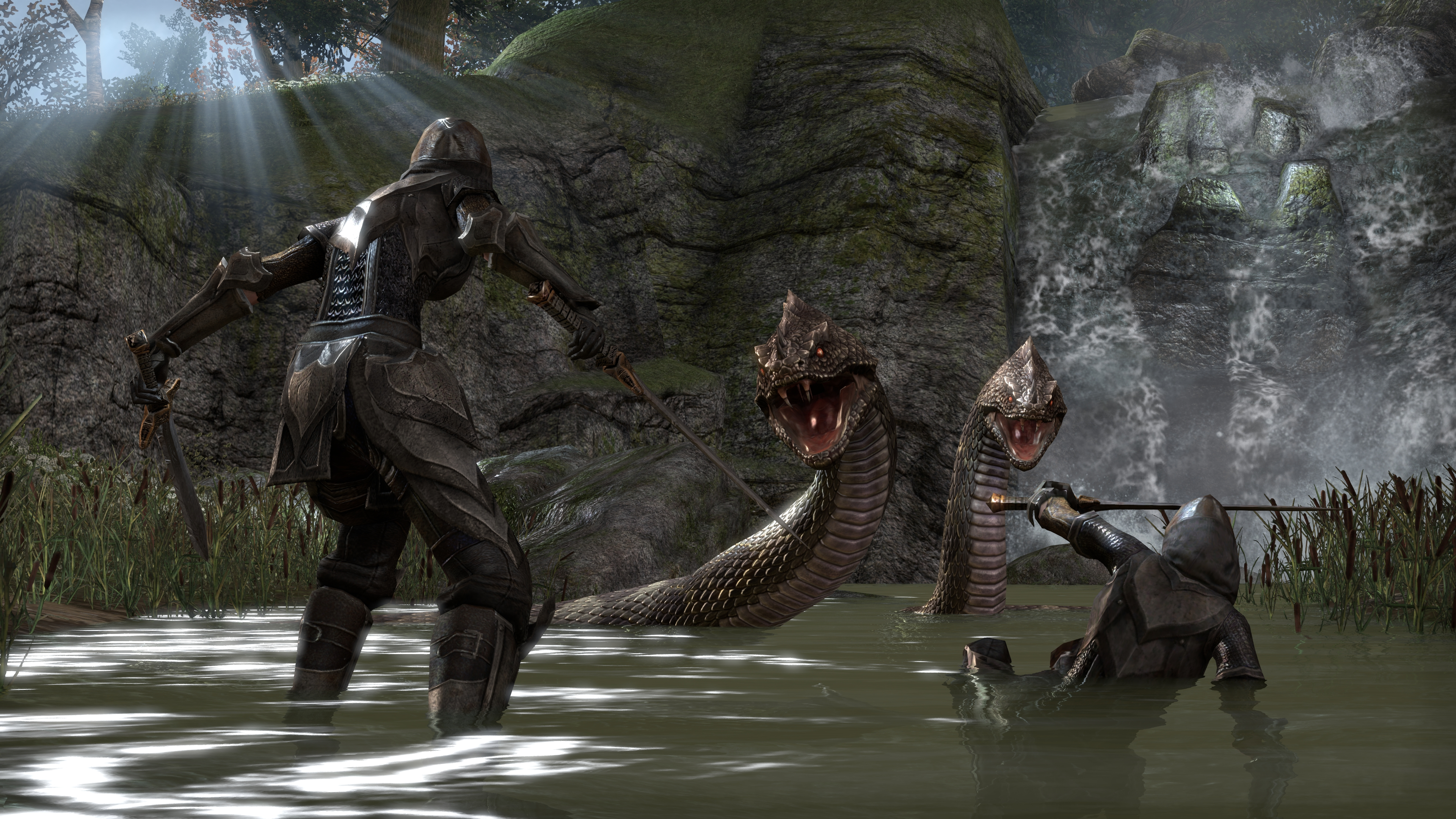 Photos The Elder Scrolls The Elder Scrolls Online Swords 3840x2160