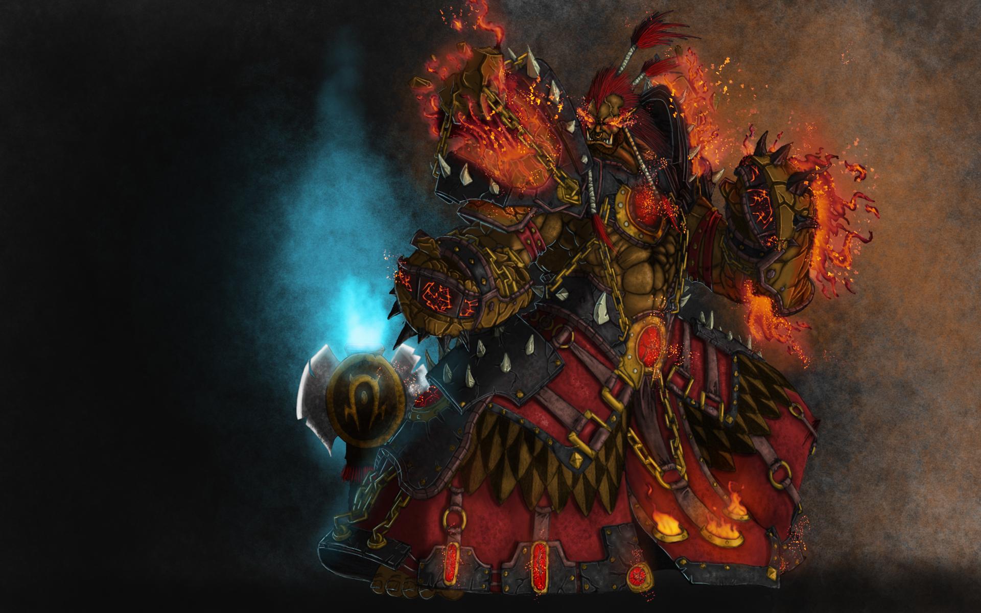 Fondos De Pantalla 1920x1200 World Of Warcraft Magia Monstruos