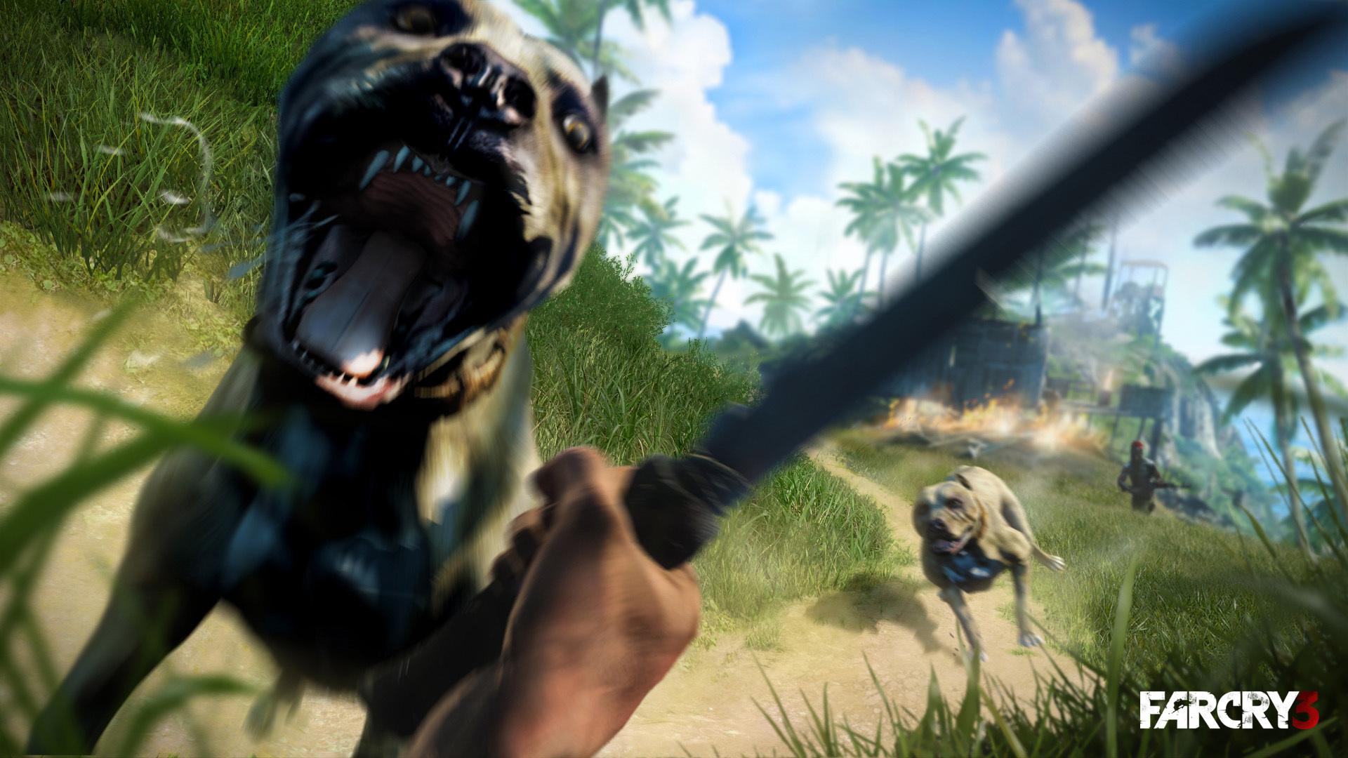 Prime Desktop Wallpapers Far Cry Far Cry 3 Amstaff Dogs 3D 1920X1080 Interior Design Ideas Oxytryabchikinfo