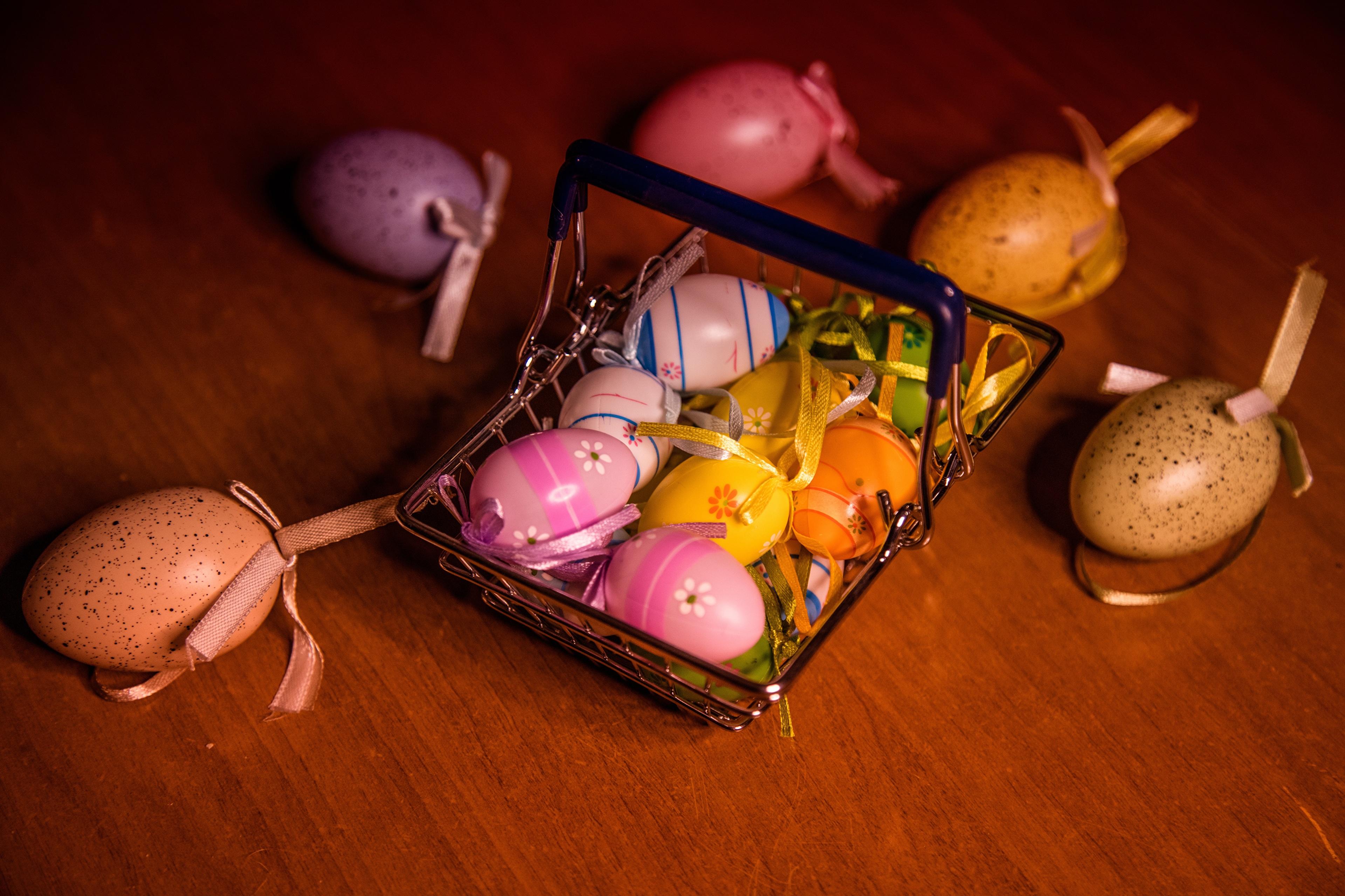 Bakgrunnsbilder til skrivebordet Påske Egg Bånd 3840x2560 egg