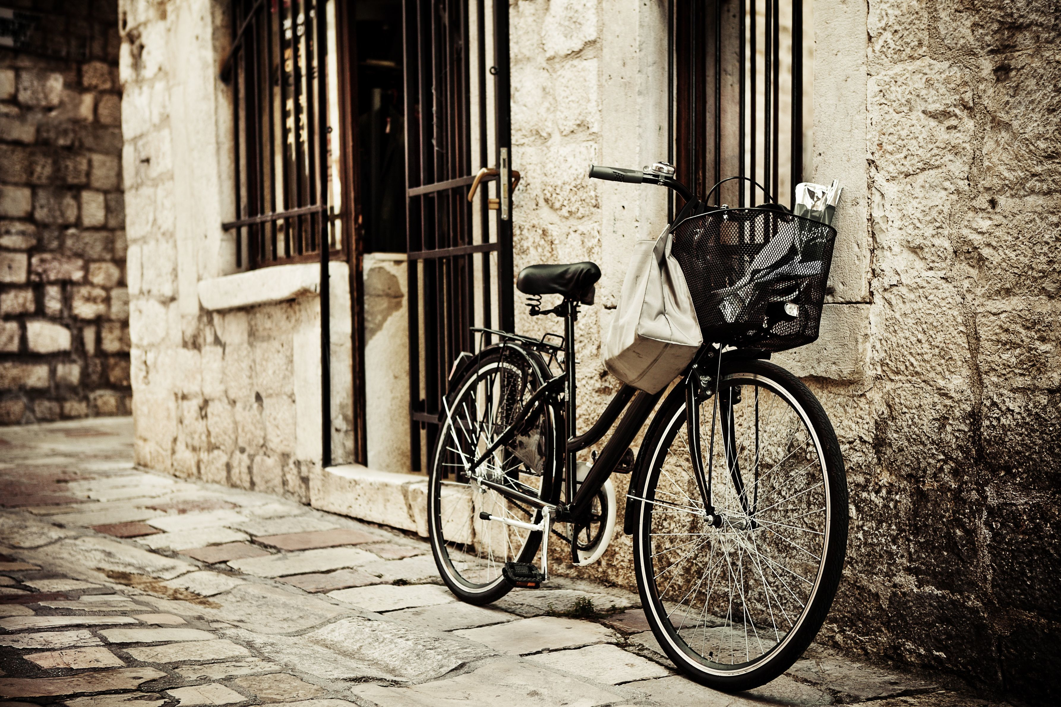 Wallpaper bike Street Wall Cities Bicycle bicycles walls
