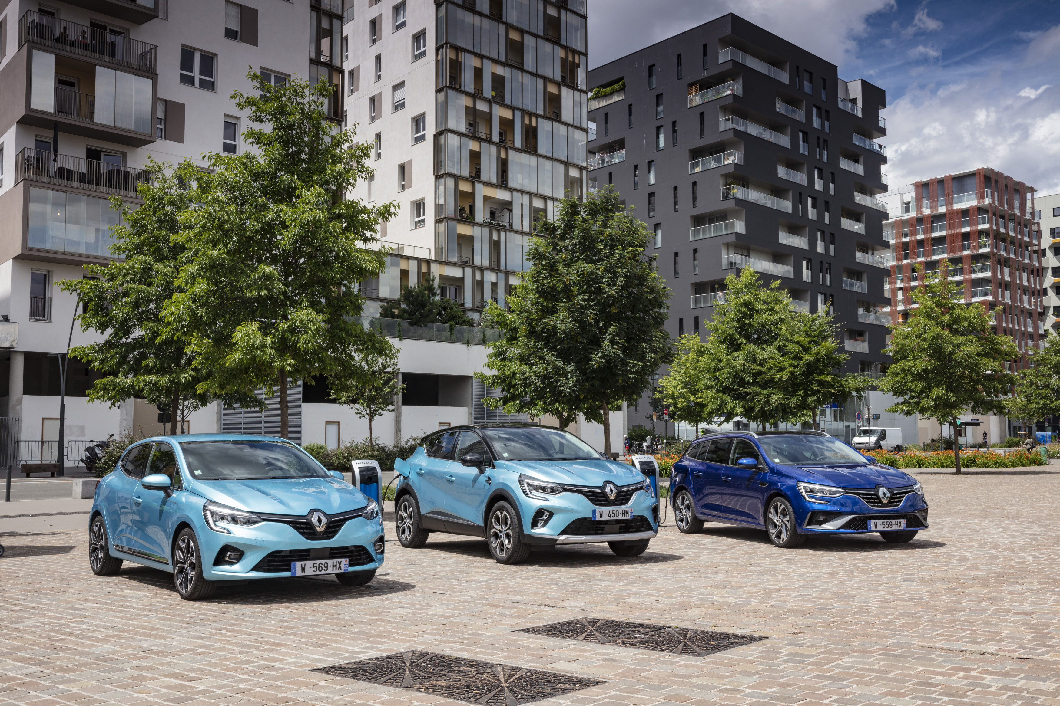 Pictures Renault Cars Three 3 auto automobile
