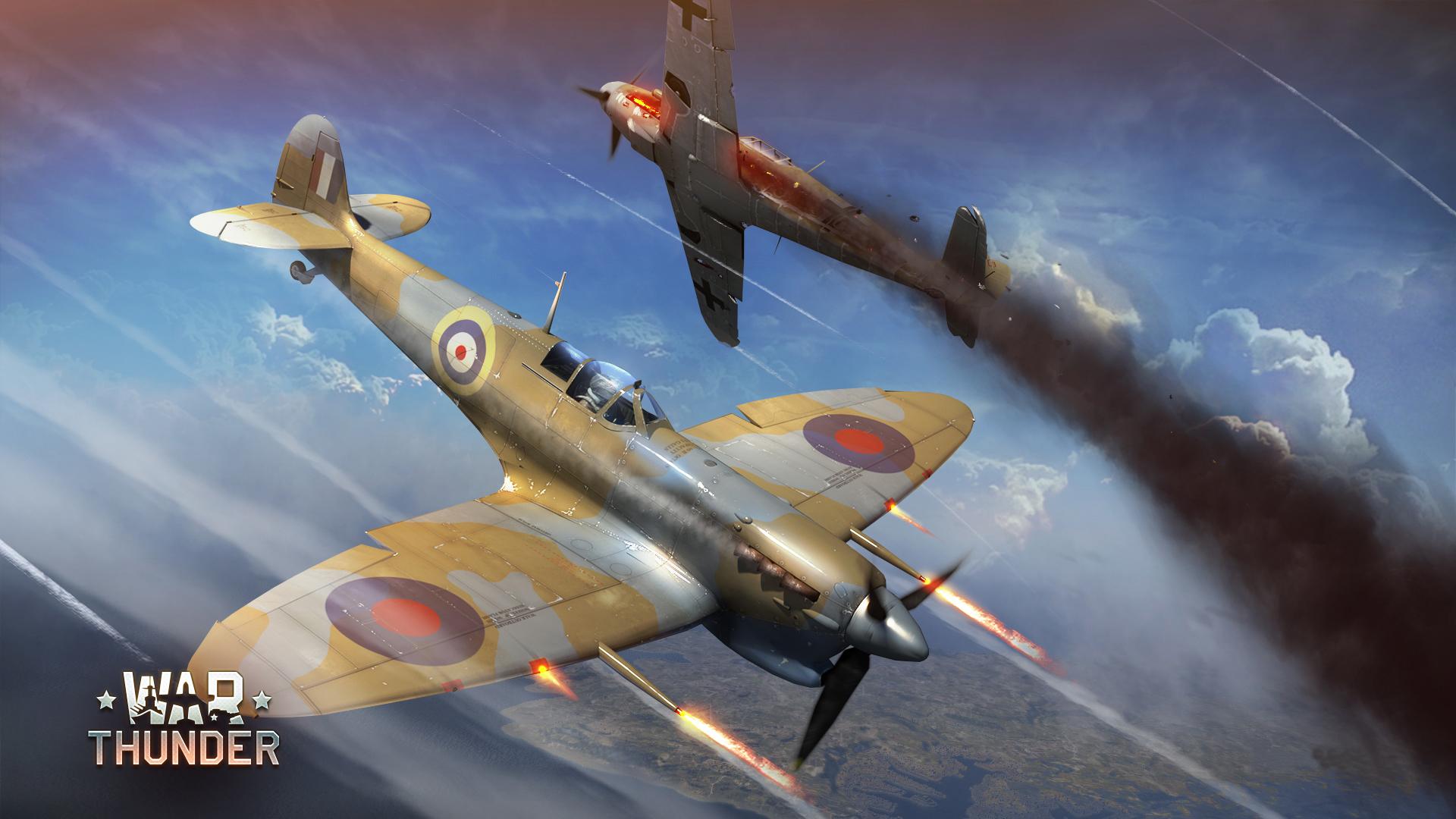 Fondos De Pantalla 1920x1080 War Thunder Avión De Caza