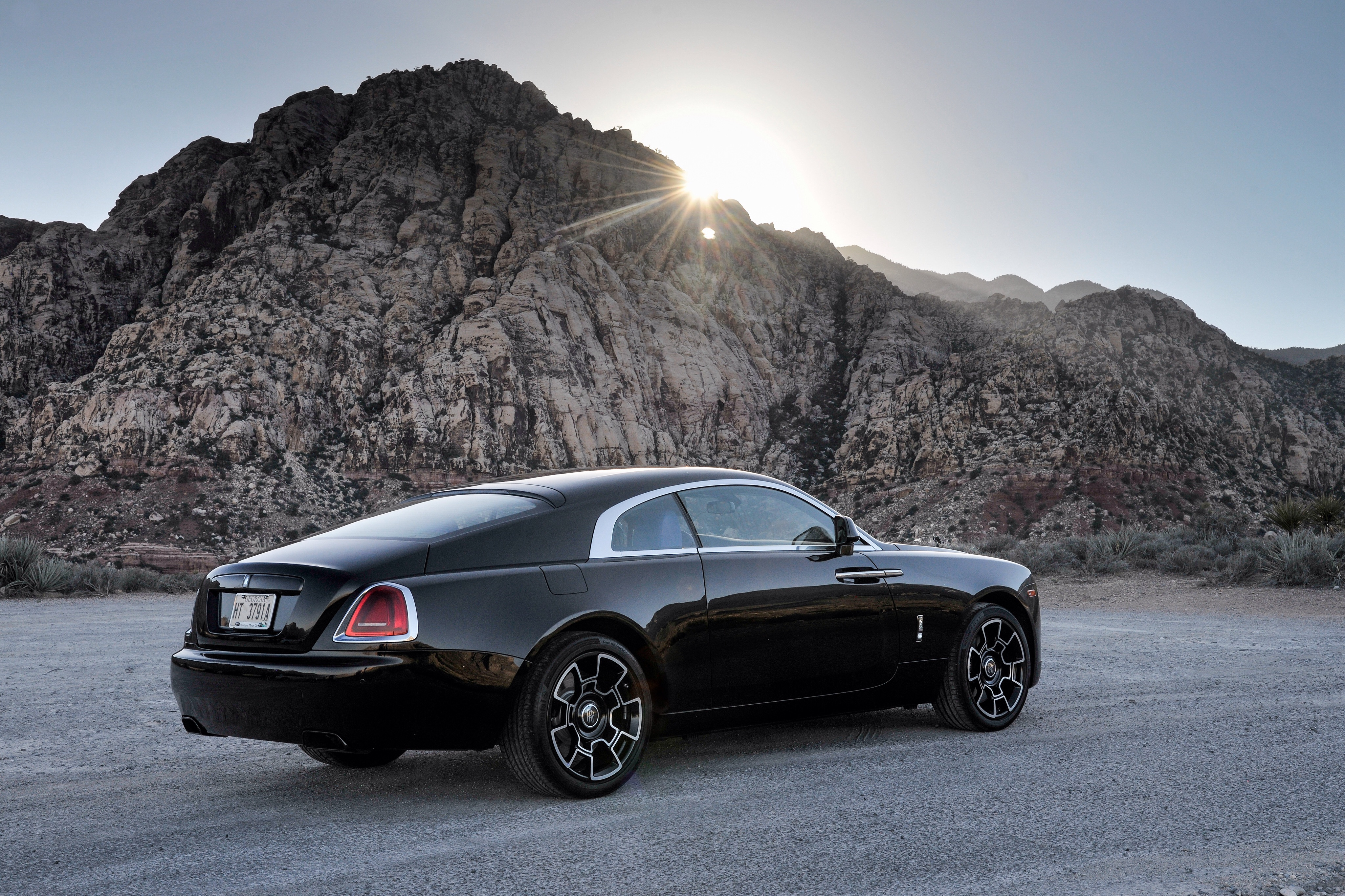 Picture Rolls Royce Wraith Black Cars 4096x2730