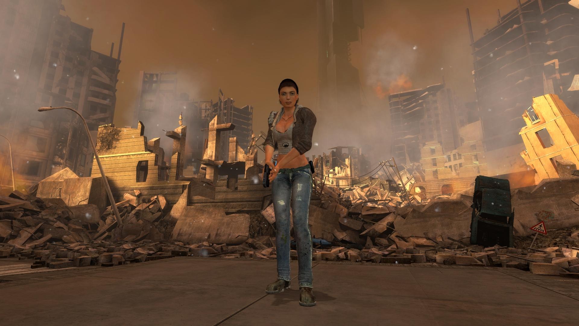 Photo Half Life Half Life 2 Episode One City 17 Alyx 1920x1080