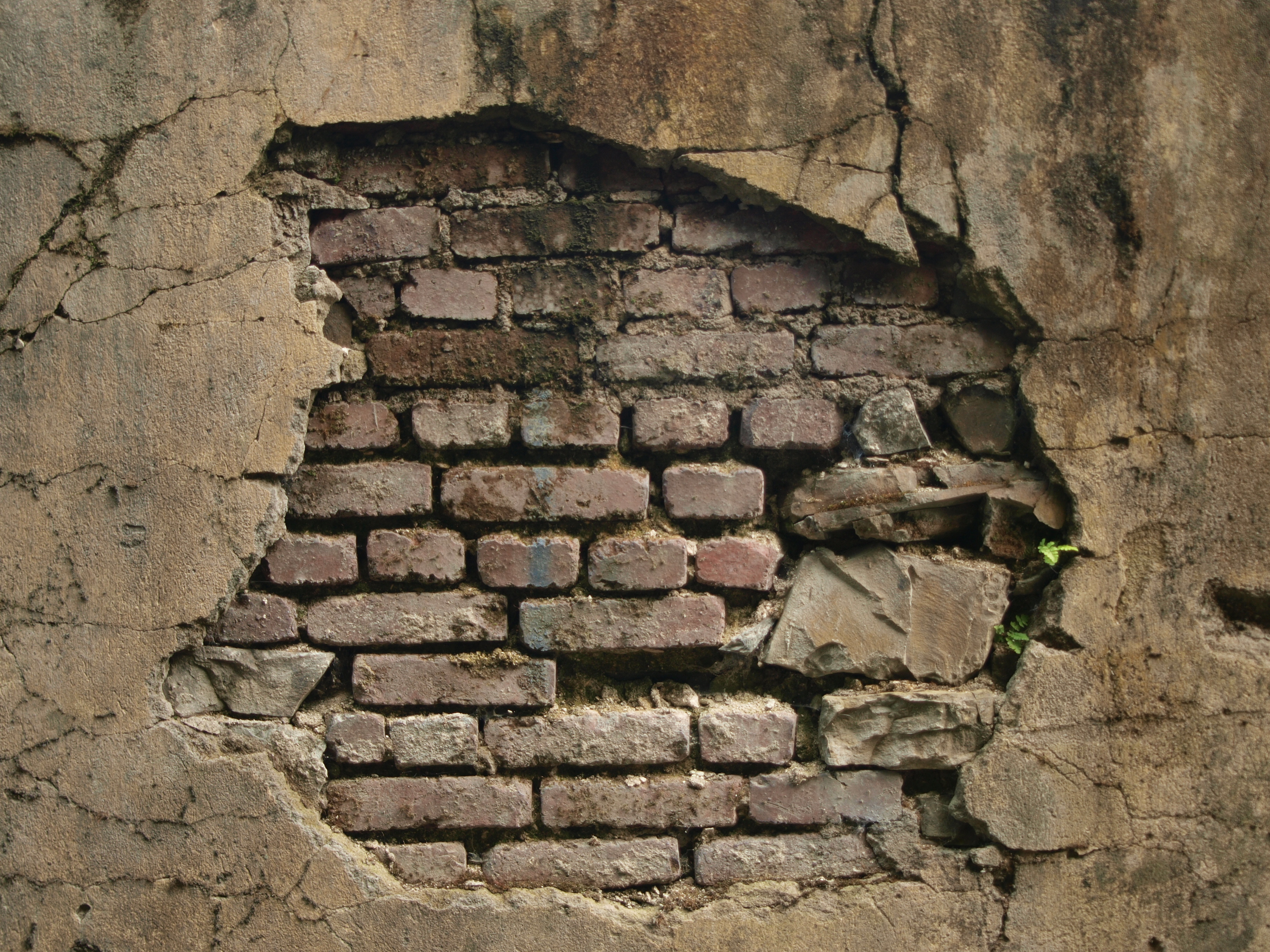 дыра в стене hd