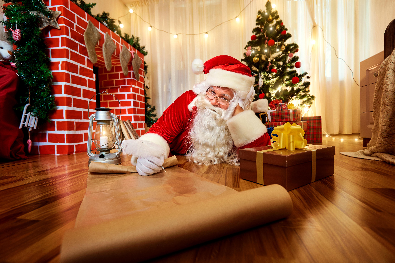 Санта Клаус Обои На Рабочий Стол