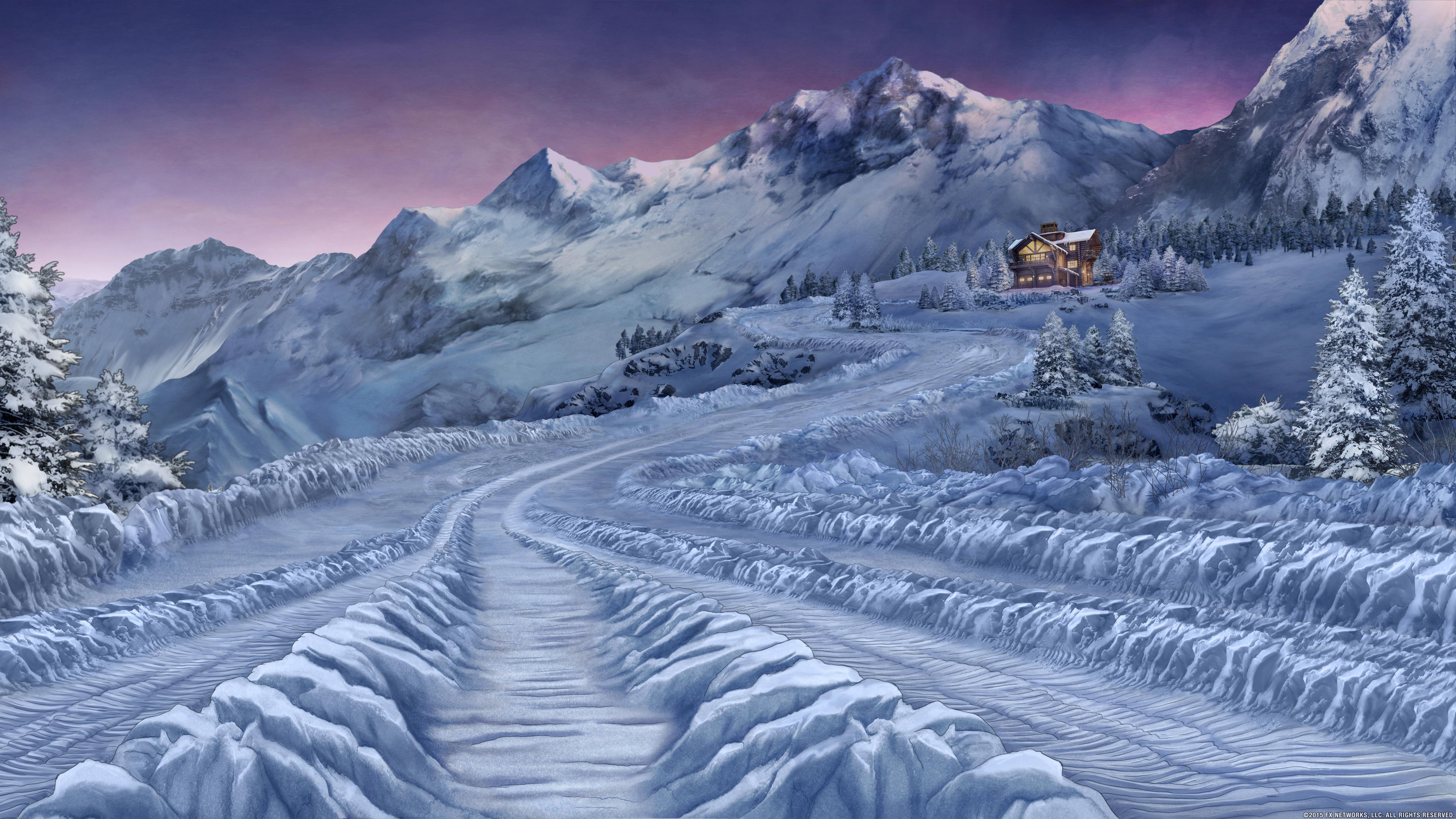 Winter wallpaper 5120x2880