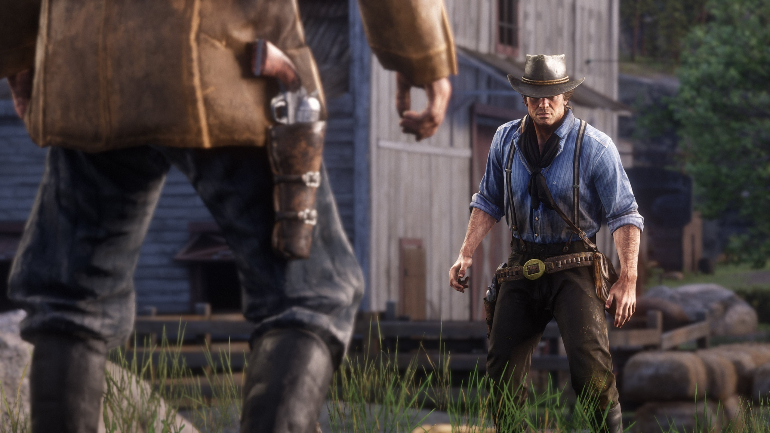 Images Red Dead Redemption 2 Revolver Men Arthur Morgan 3D