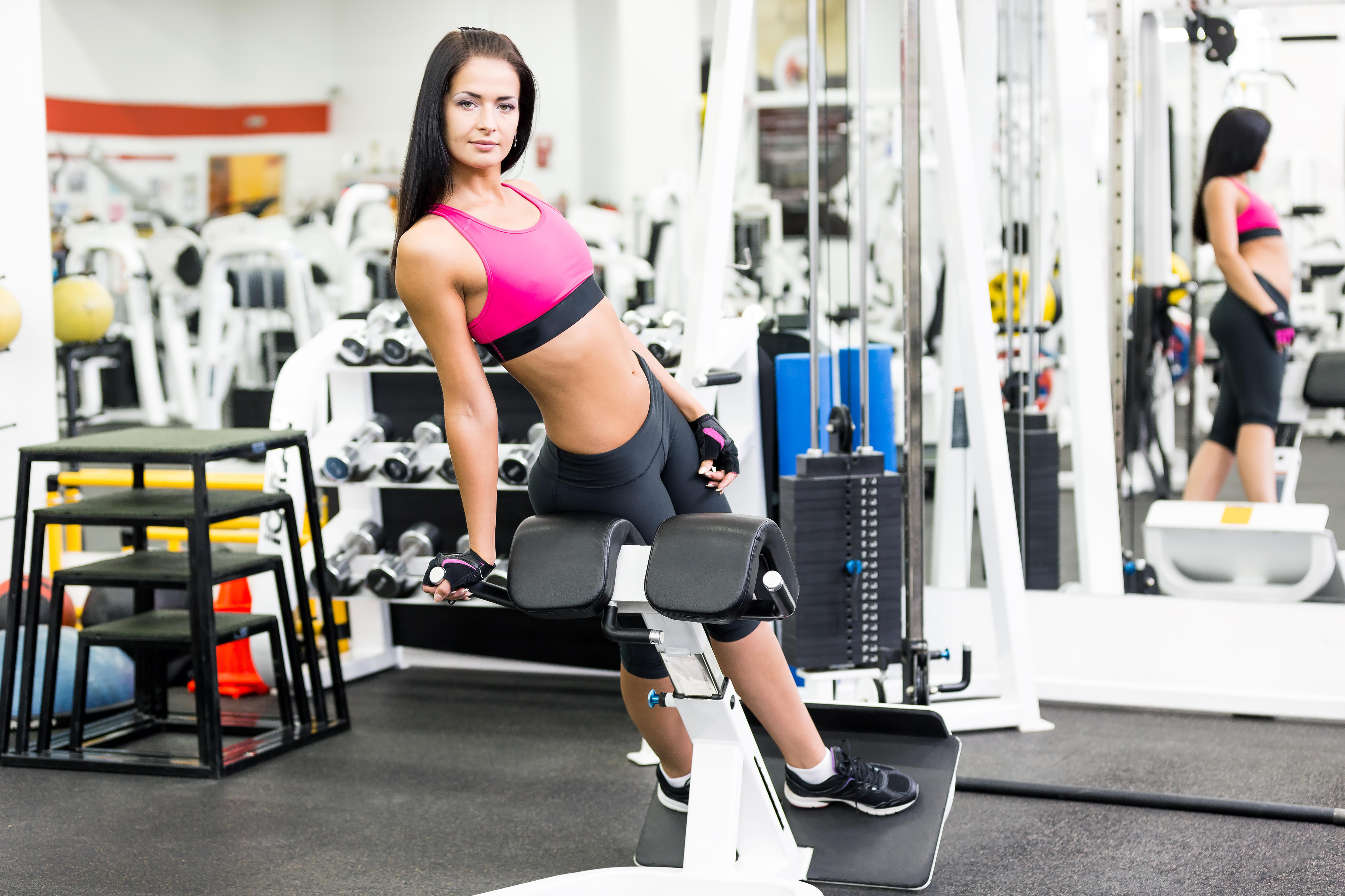 Спортзал для девушек похудения