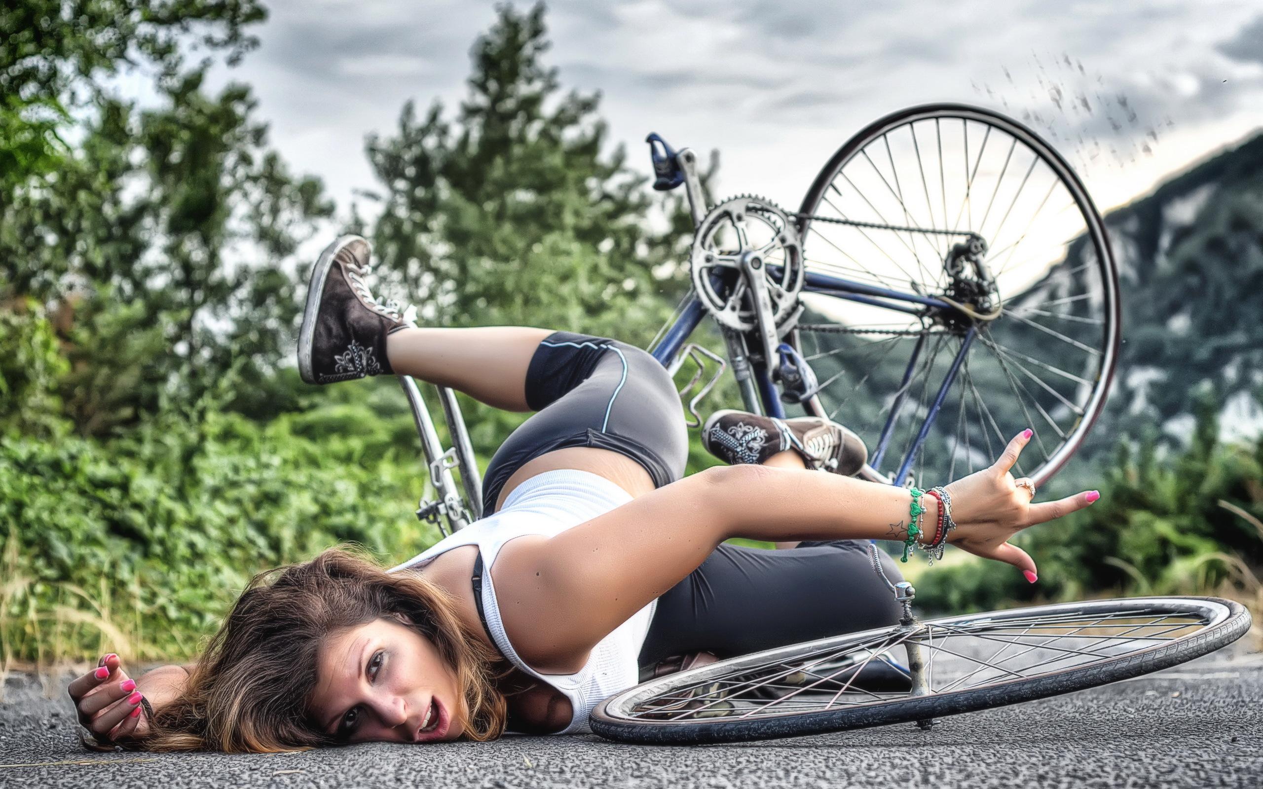 Болят колени от езды на велосипеде. Что делать