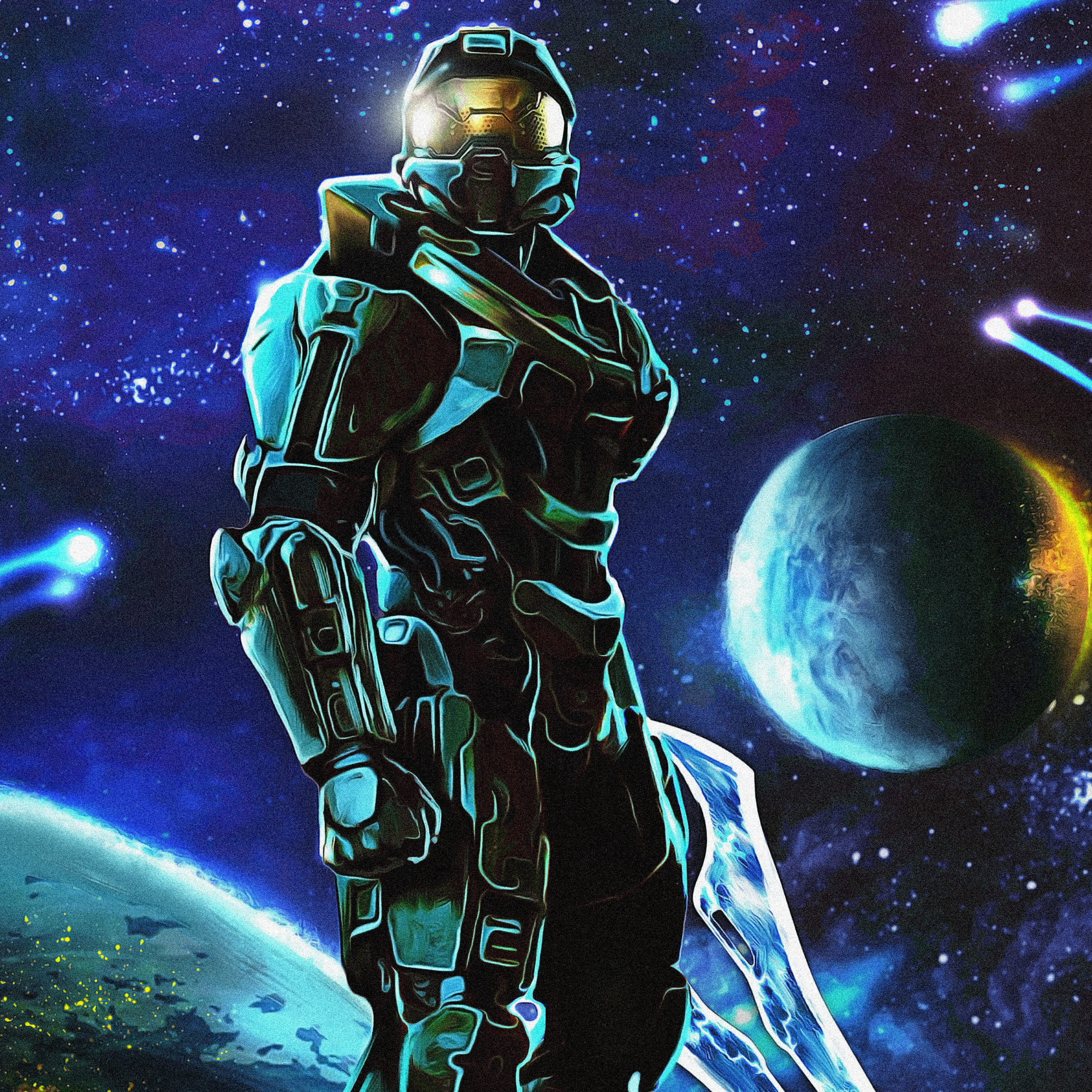 Pictures Halo Halo 5 Guardians Warriors Master Chief 2534x2534