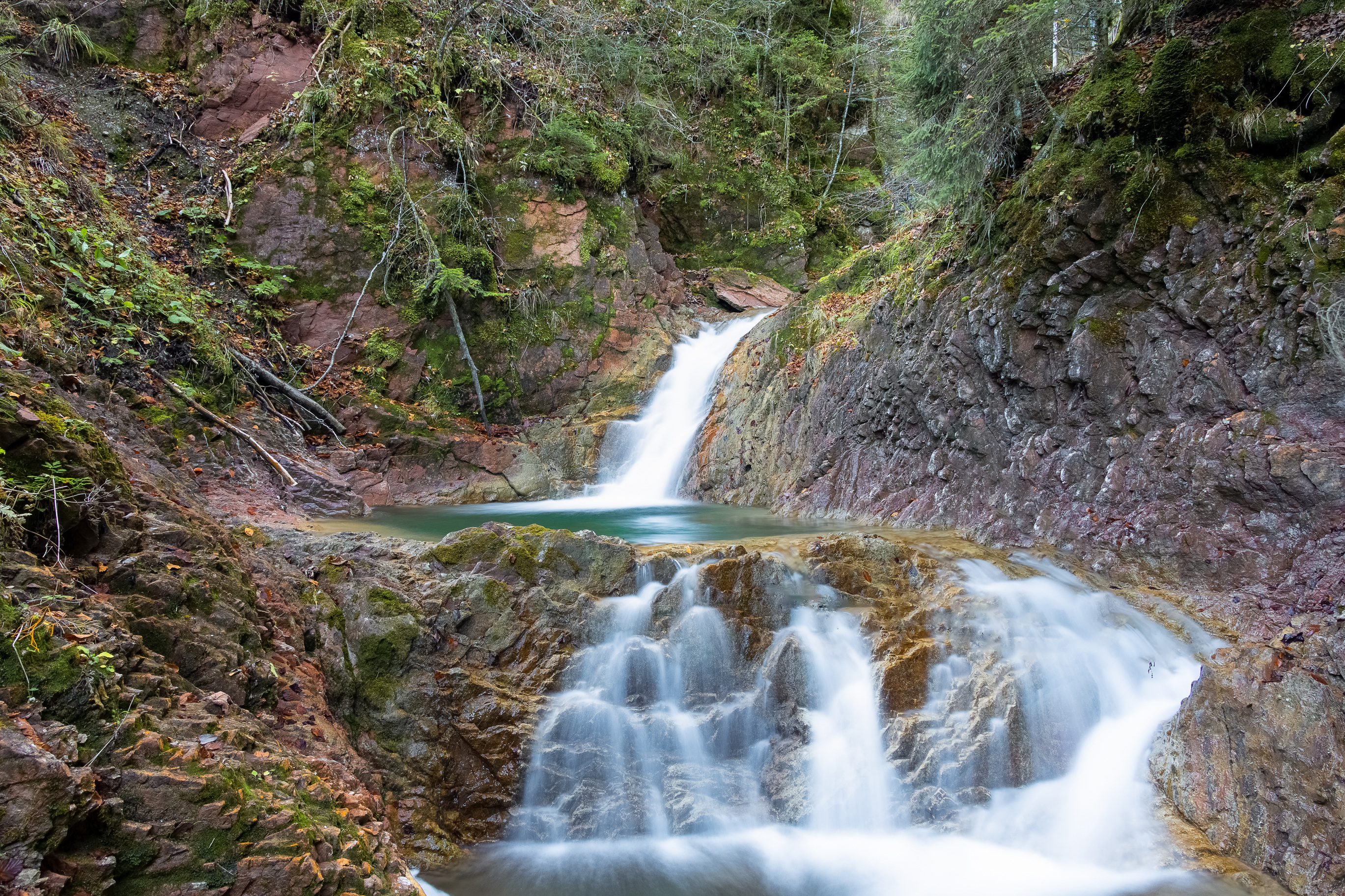 Pictures Bavaria Germany Nature Waterfalls