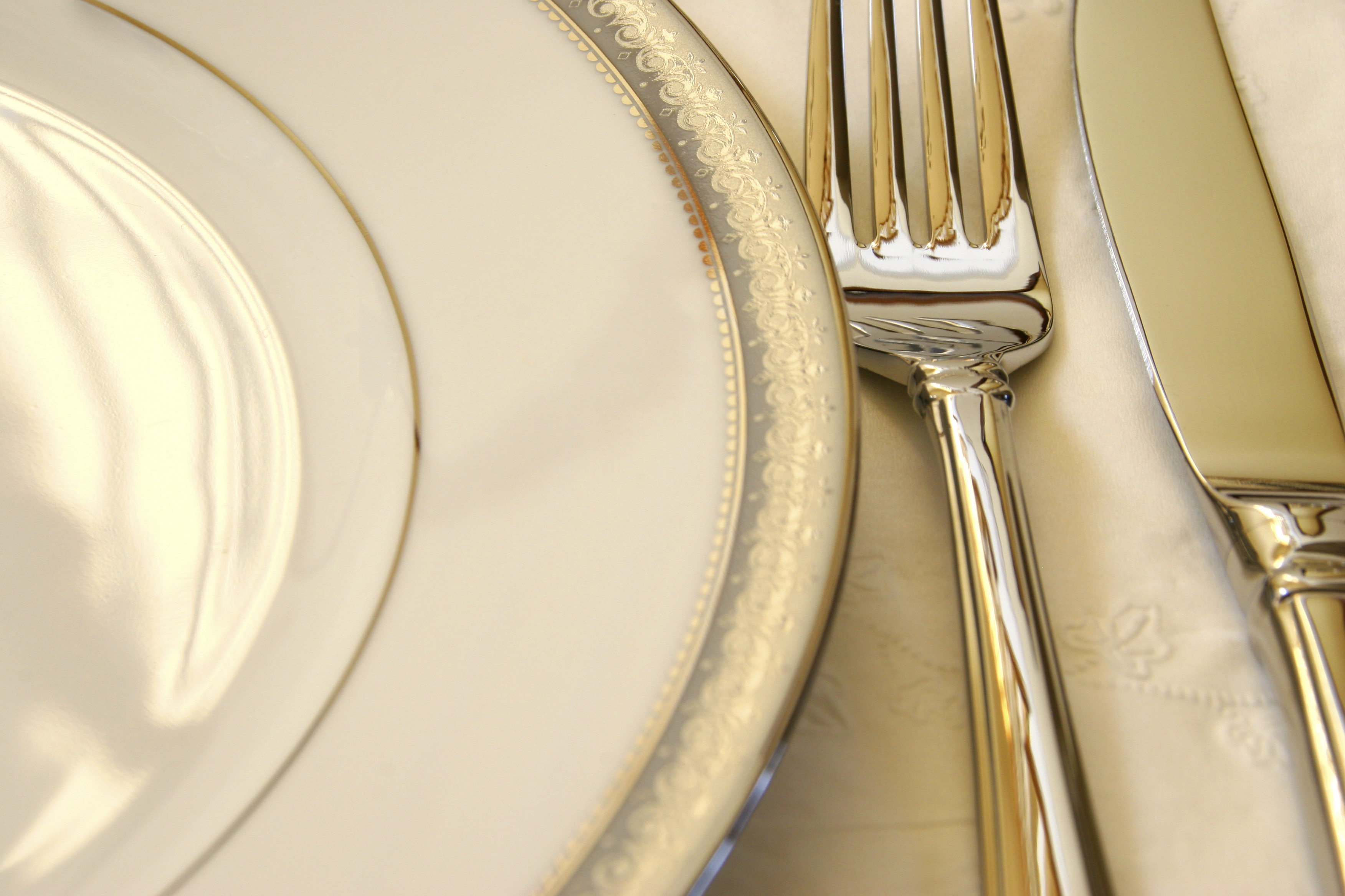Pictures Fork Plate Closeup