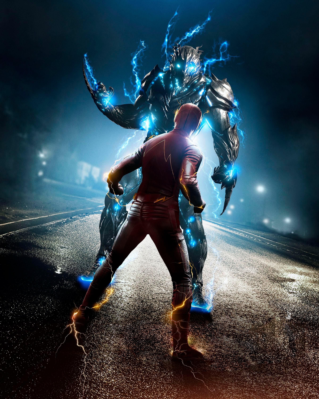 2400x3000 The Flash 2014 Flash Herói Heróis de quadrinhos Barry Allen super-heróis Filme para celular Telemóvel