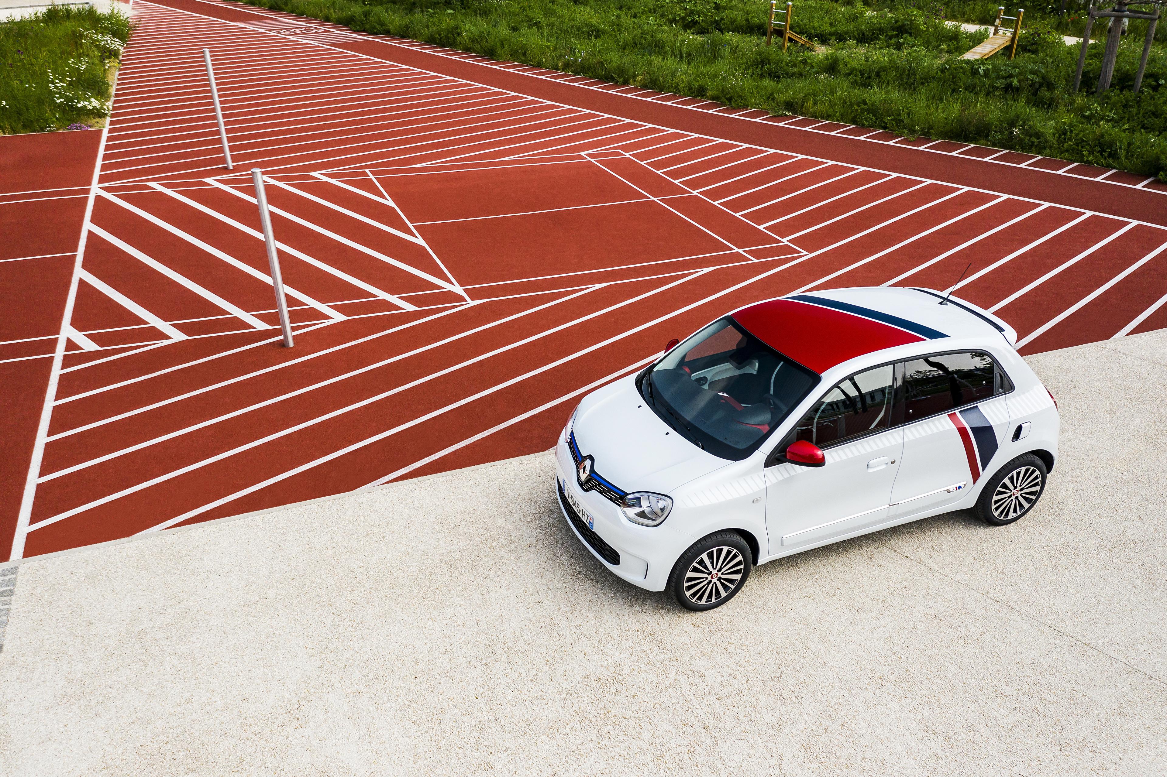 Photos Renault 2019 TWINGO Le Coq Sportif White automobile 3840x2558 Cars auto