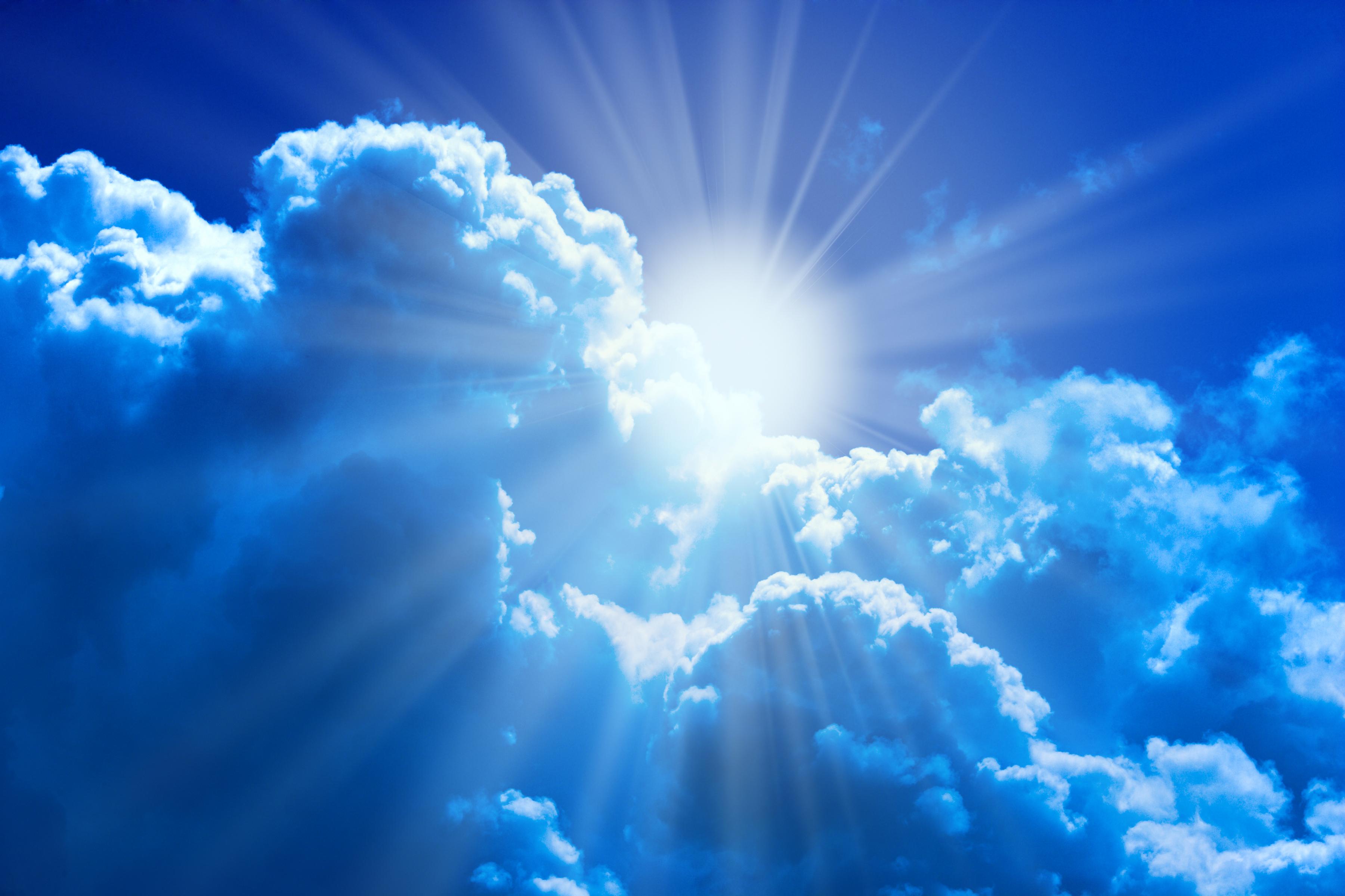 Bilder Lichtstrahl Natur Sonne Himmel Wolke