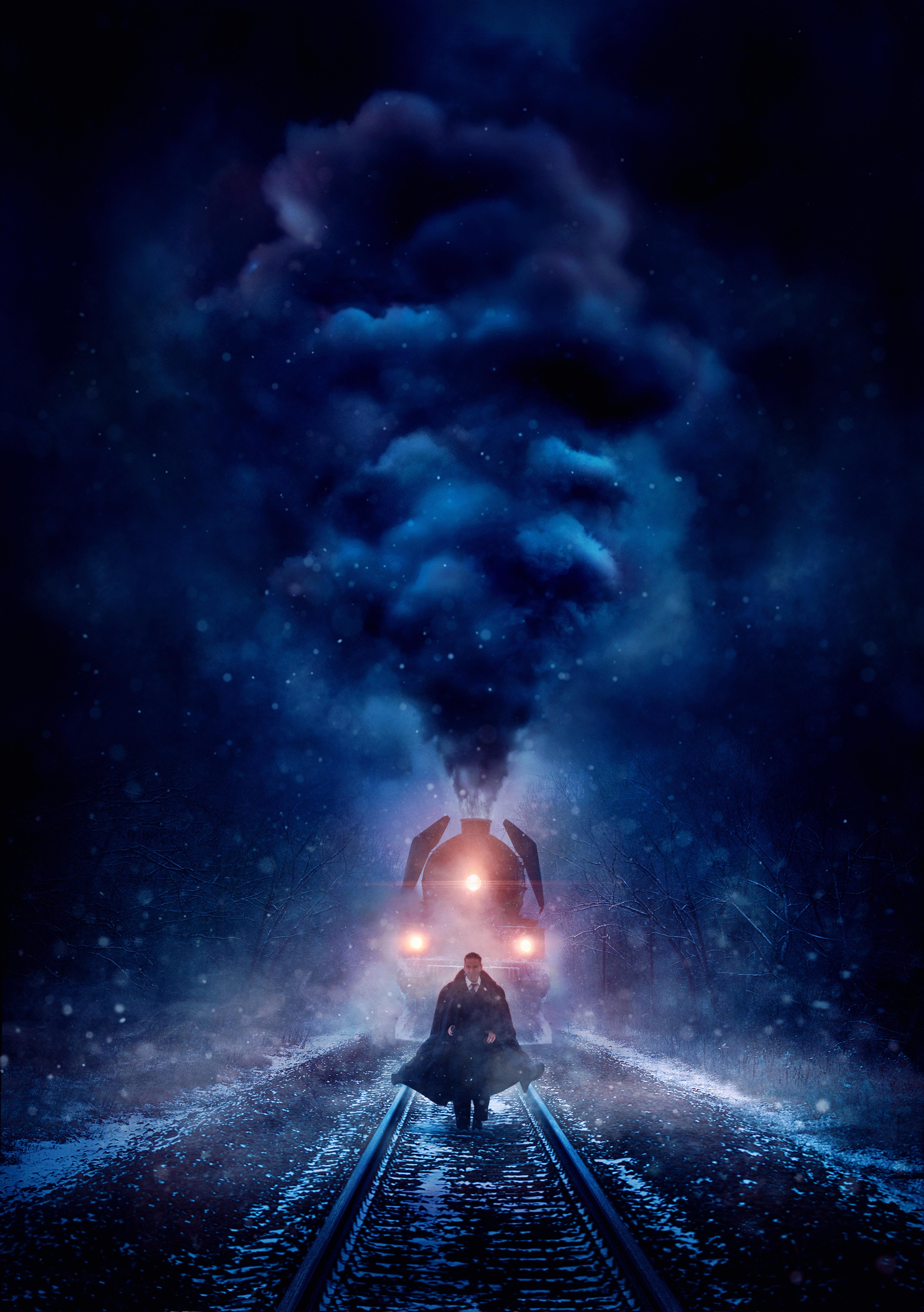 Tapeta Morderstwo w Orient Expressie 2017 mężczyzna Kenneth Branagh Filmy Pociąg Dym  dla Telefon komórkowy Mężczyźni film pociągi