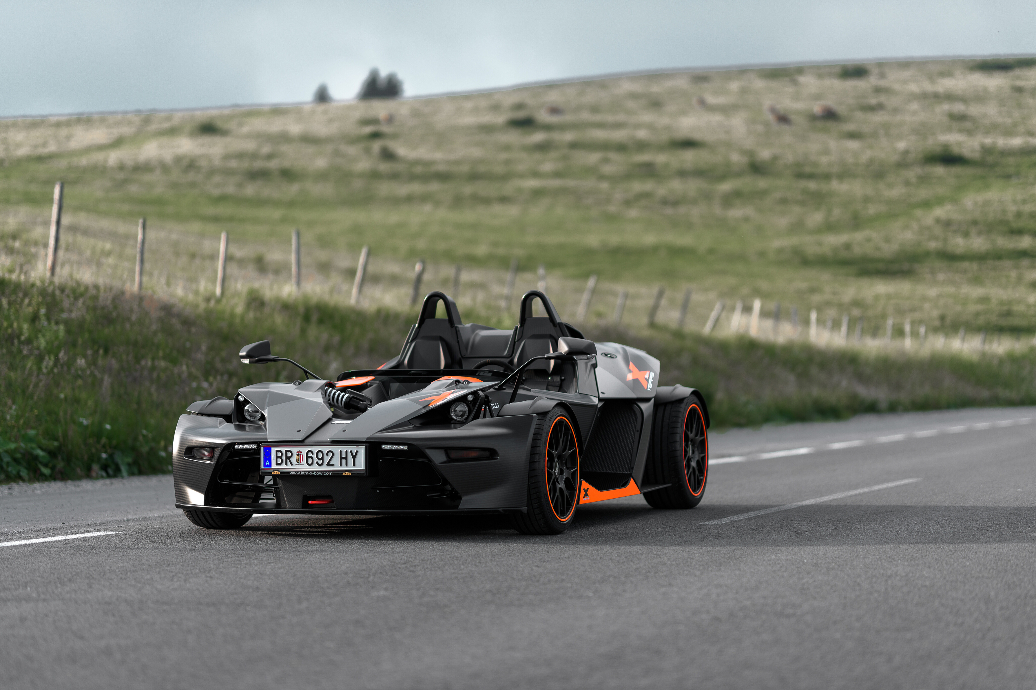 Images KTM Cars 2018-19 X-Bow 10 Years gray Cars 3576x2383 Grey auto automobile