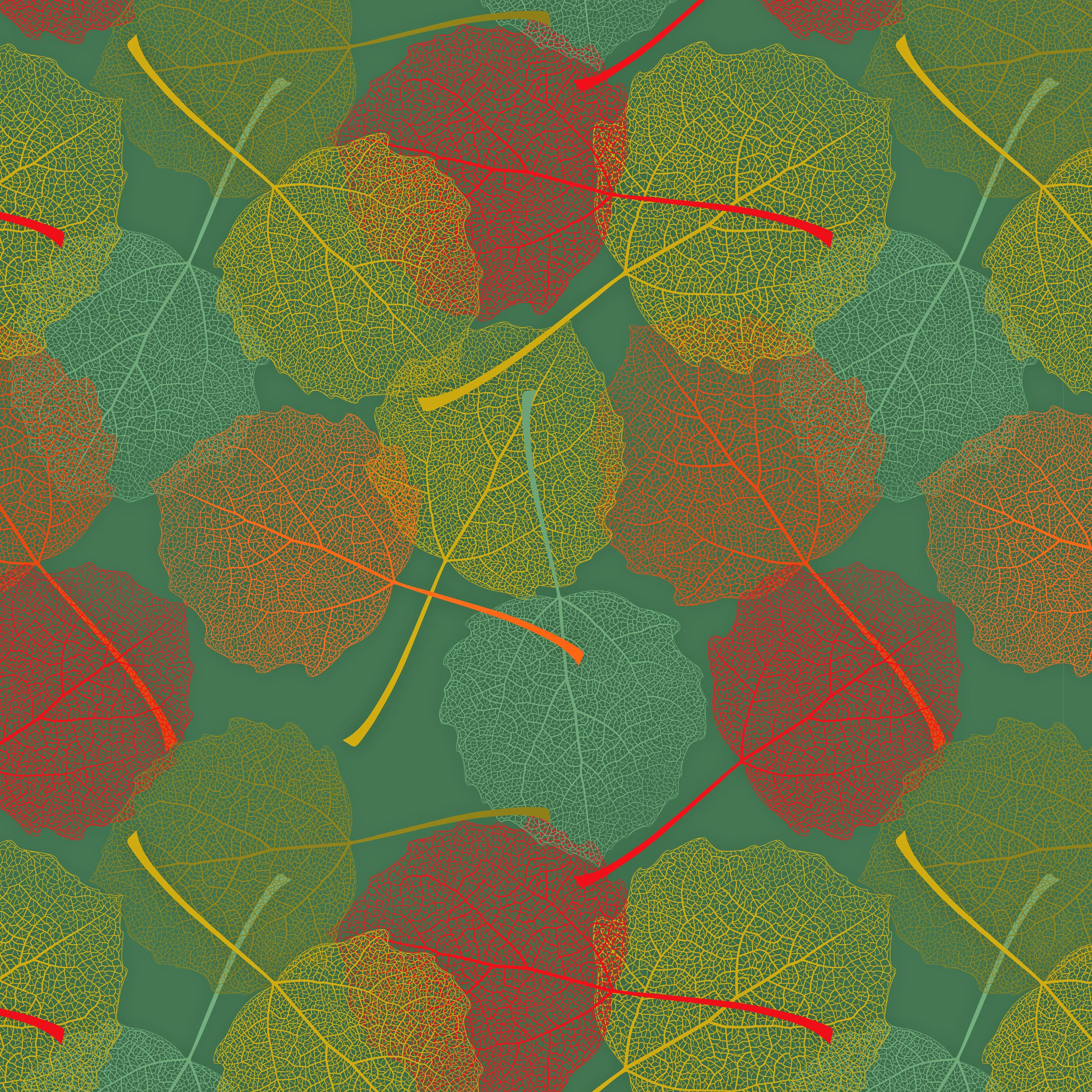 Fotos Blatt Textur Herbst 3600x3600 Blattwerk