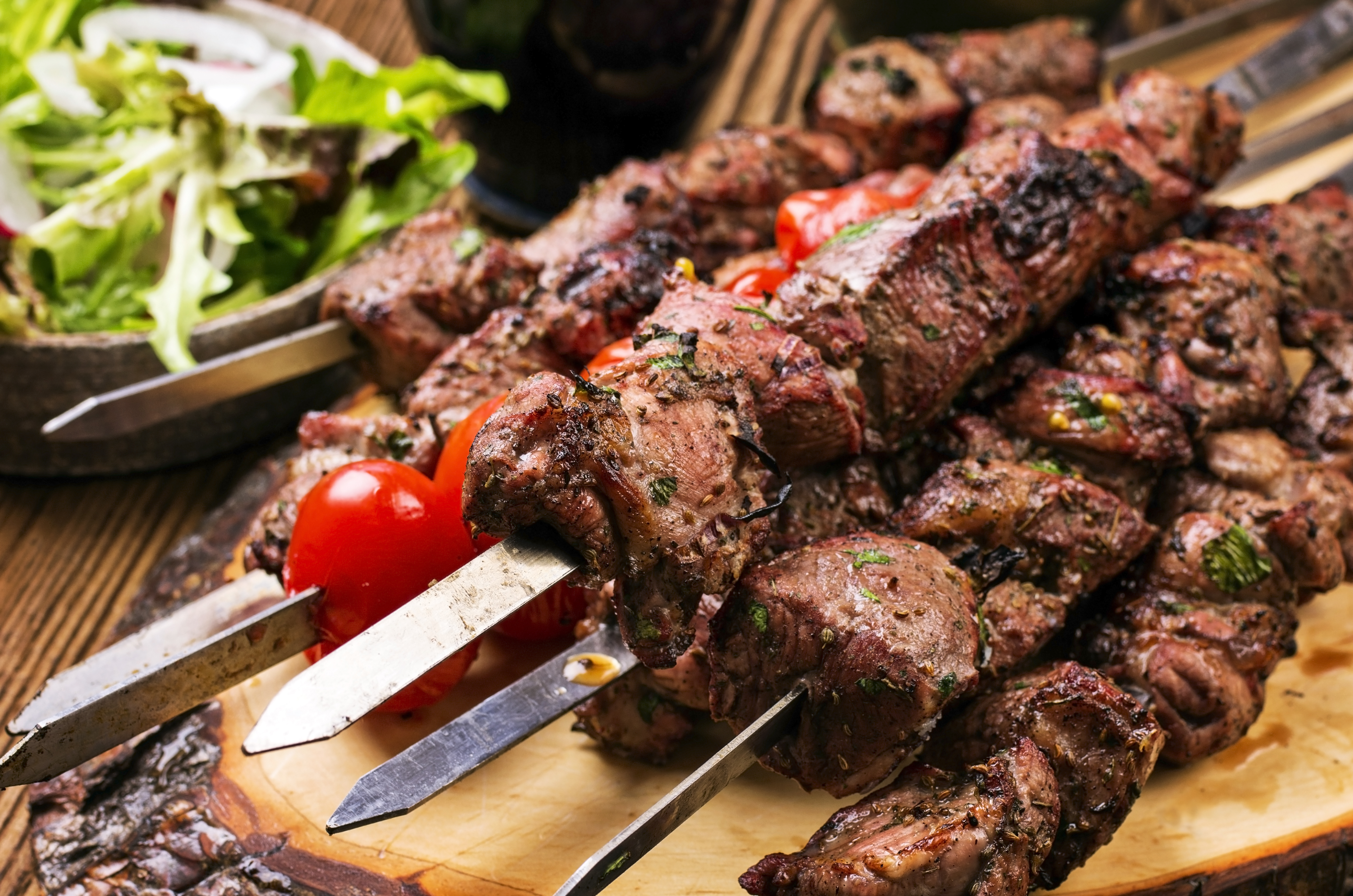 Images Shashlik Food Meat Products 4928x3264 Images, Photos, Reviews