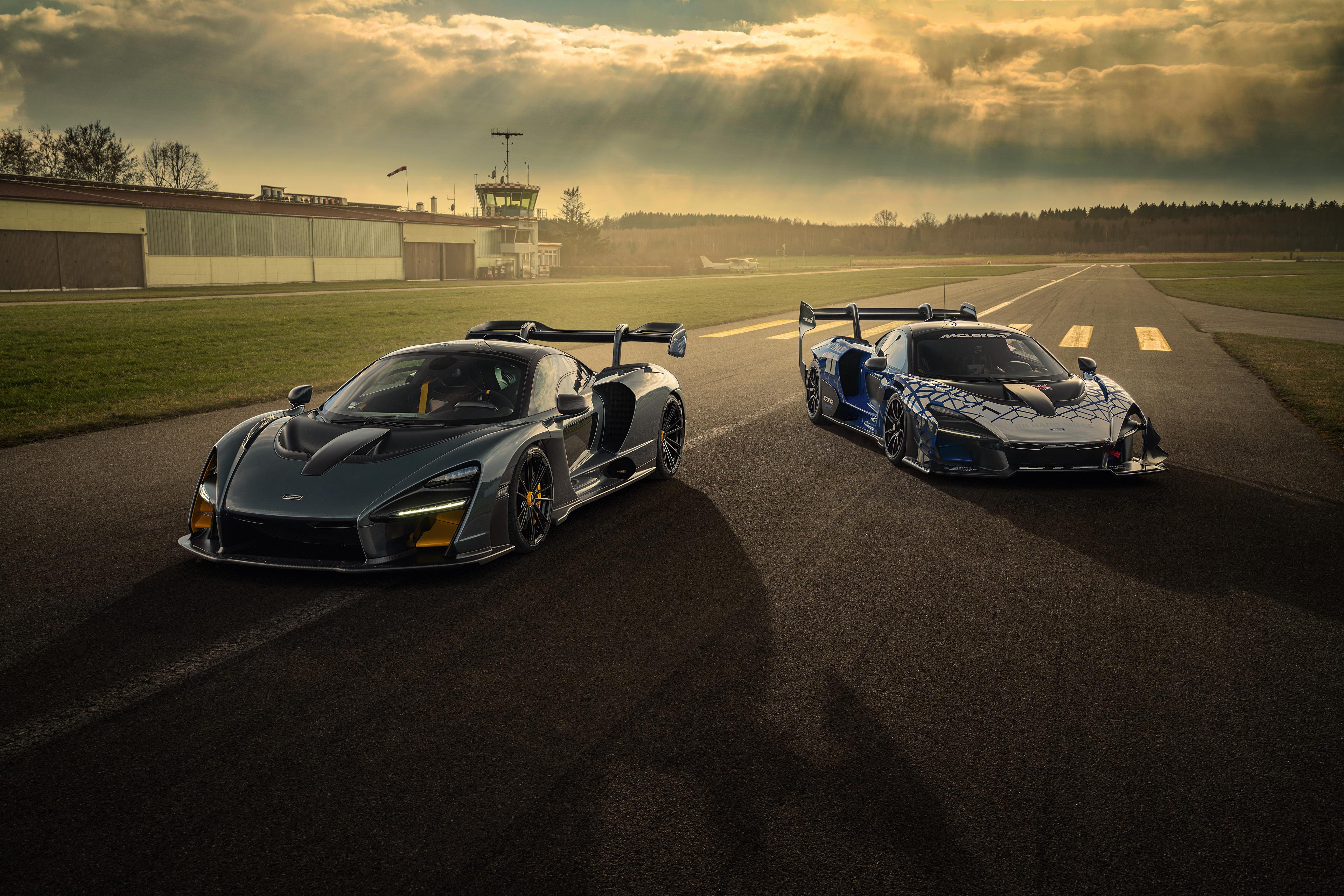 Picture 2020 Novitec McLaren Senna 2 Cars 3840x2561 Two auto automobile