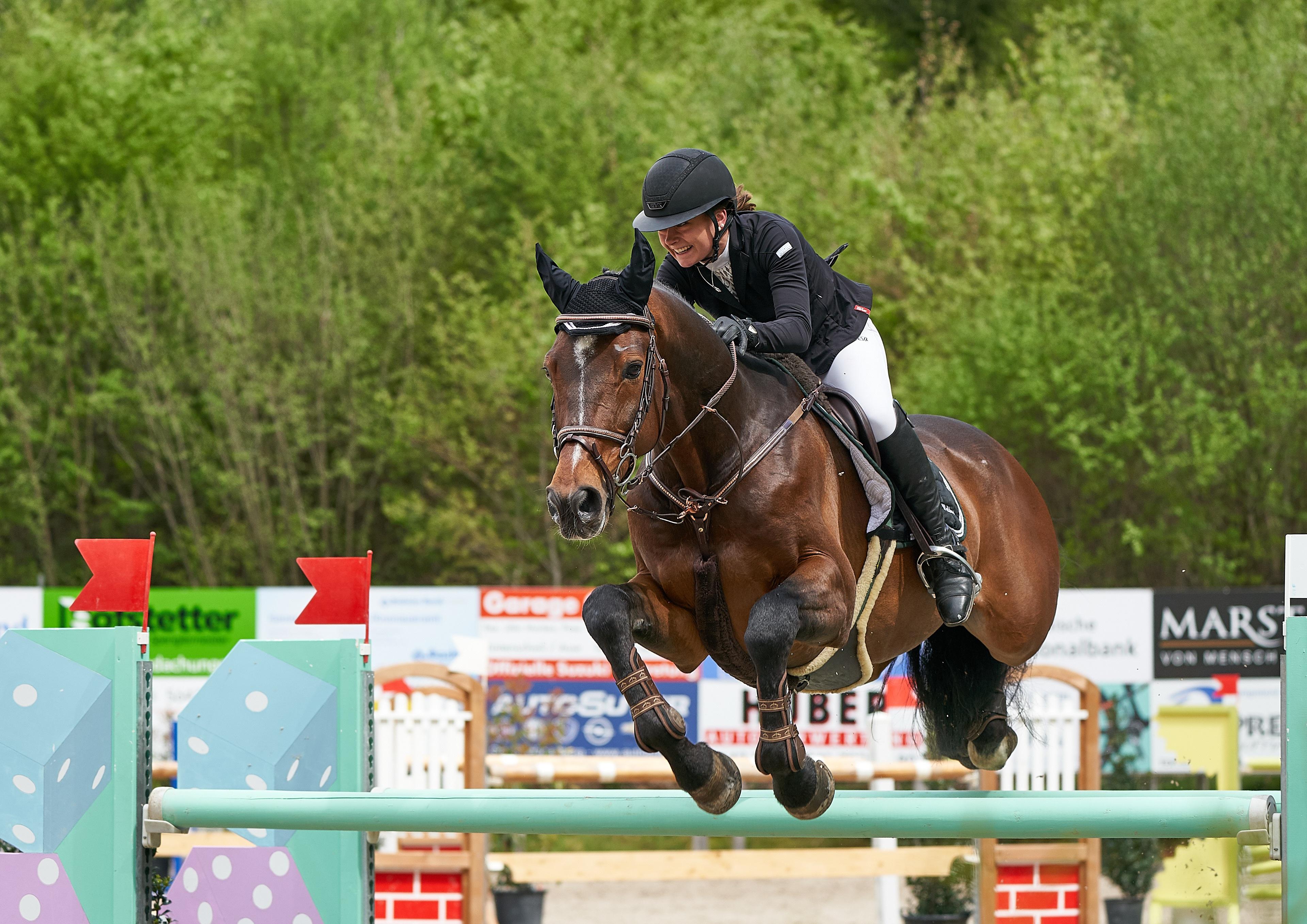 Photos horse Helmet Sport Equestrian sport  Jump Uniform 3840x2715 Horses sports athletic
