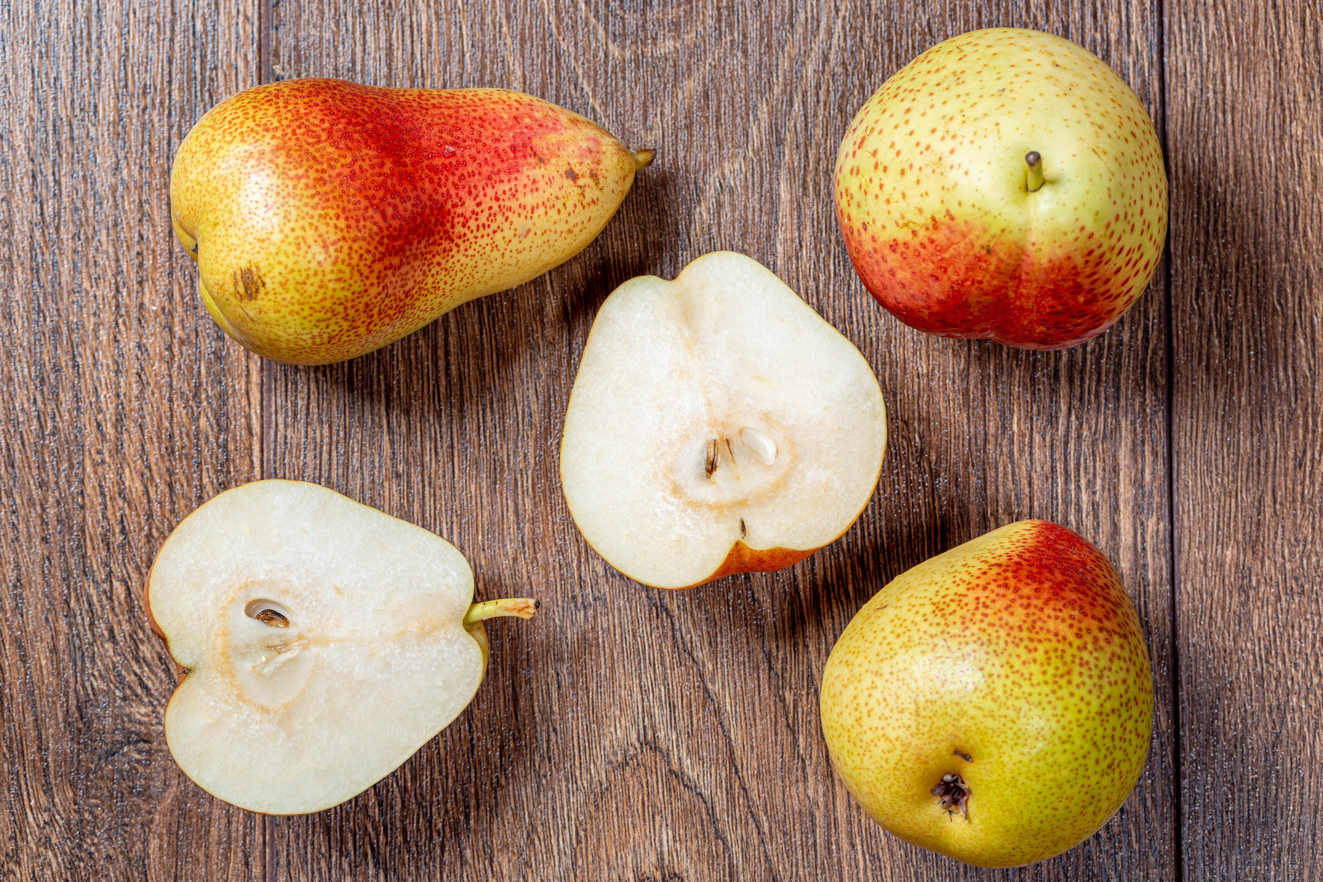 Picture Pears Food boards 4500x3000 Wood planks