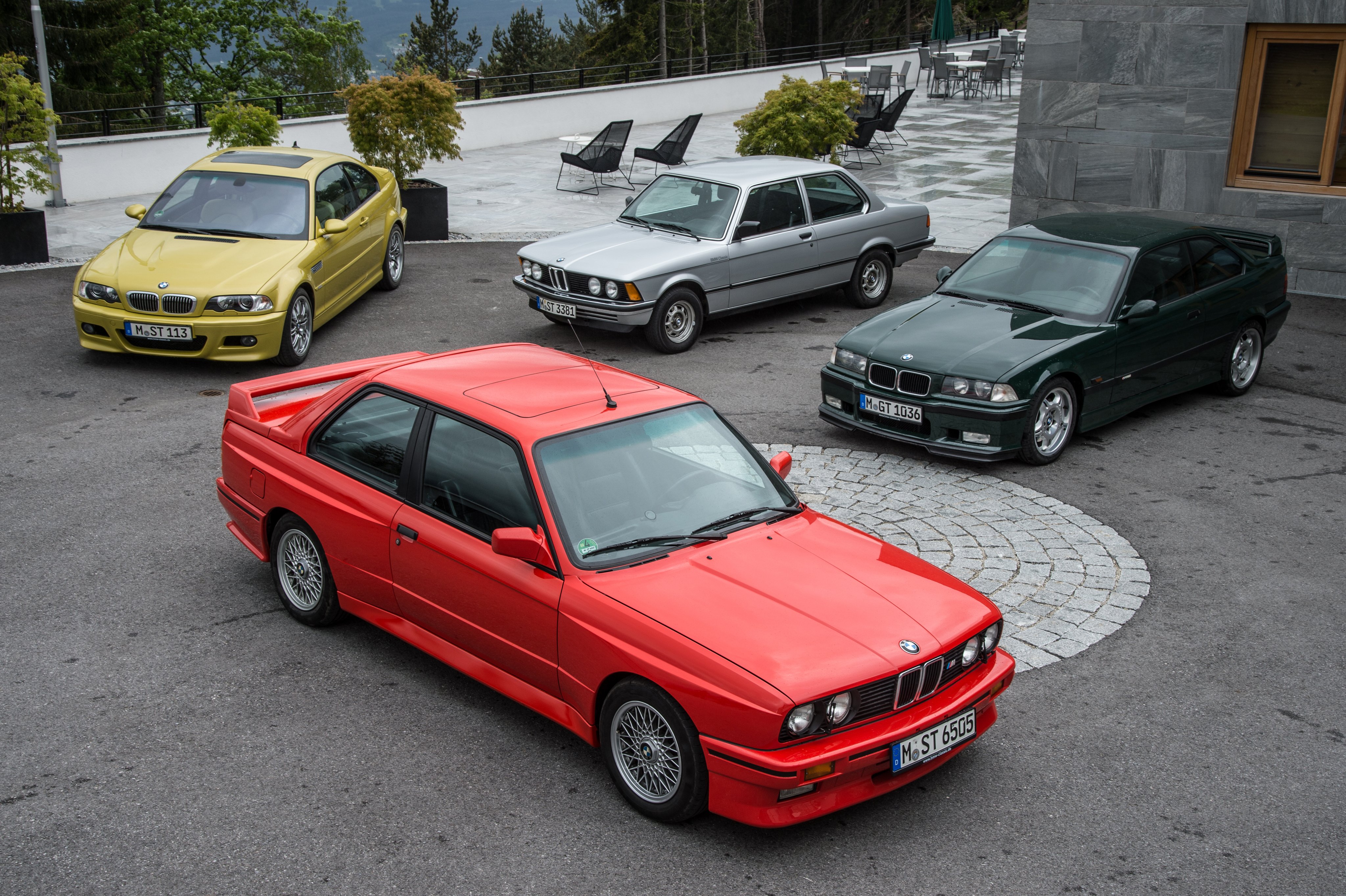 Desktop Wallpapers BMW 1975-2016 3 Series automobile Cars auto