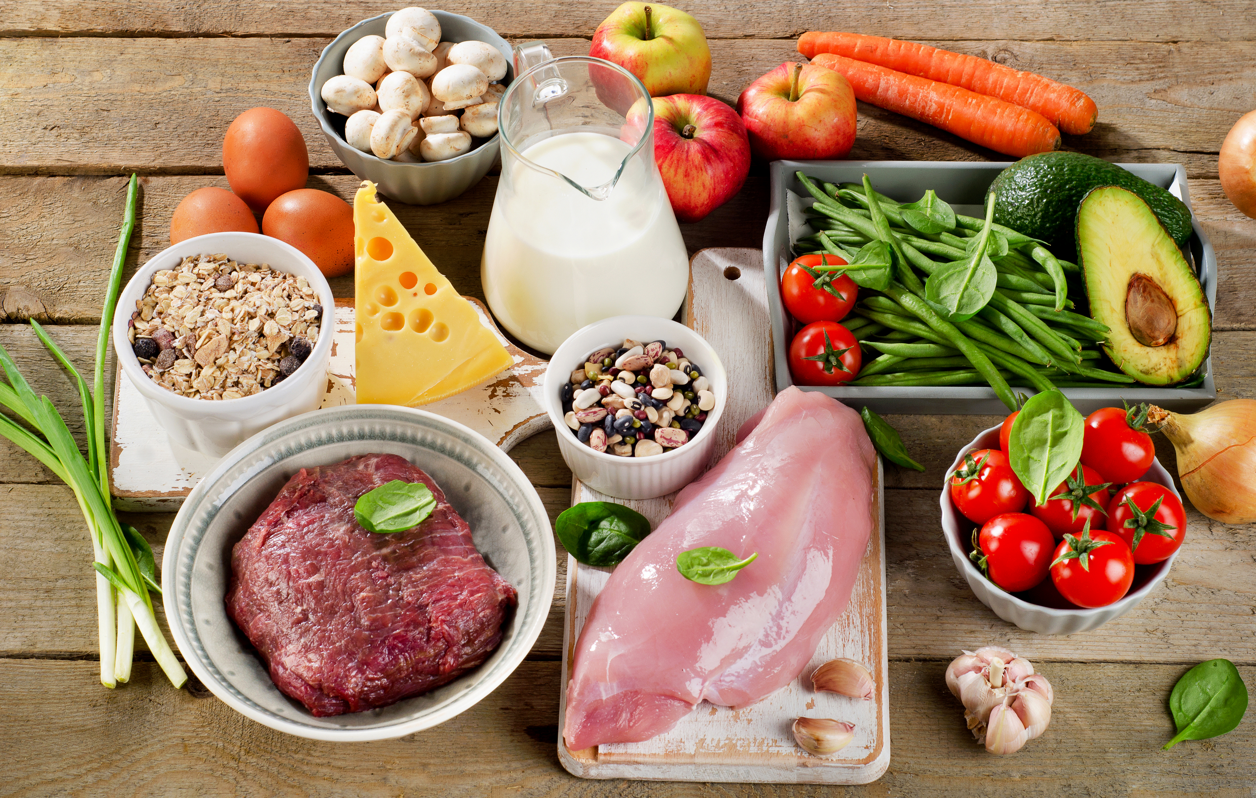 Кисломолочная и растительная диета