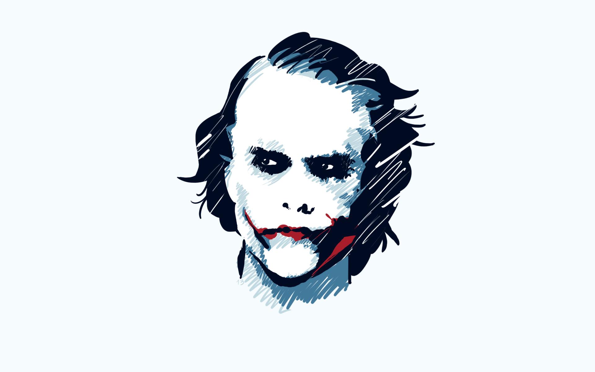 Pictures The Dark Knight Joker Hero Film Head Vector Graphics