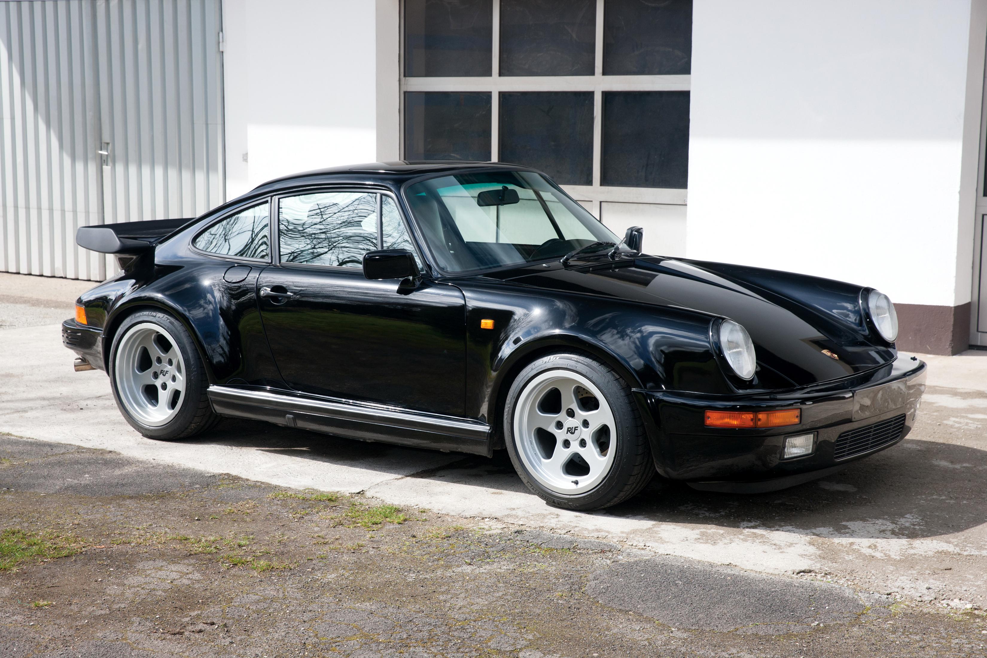 Papeis De Parede 3300x2200 Porsche Tuning 1987 91 Ruf Ctr Yellowbird 911 Preto Metalico Carros Baixar Imagens
