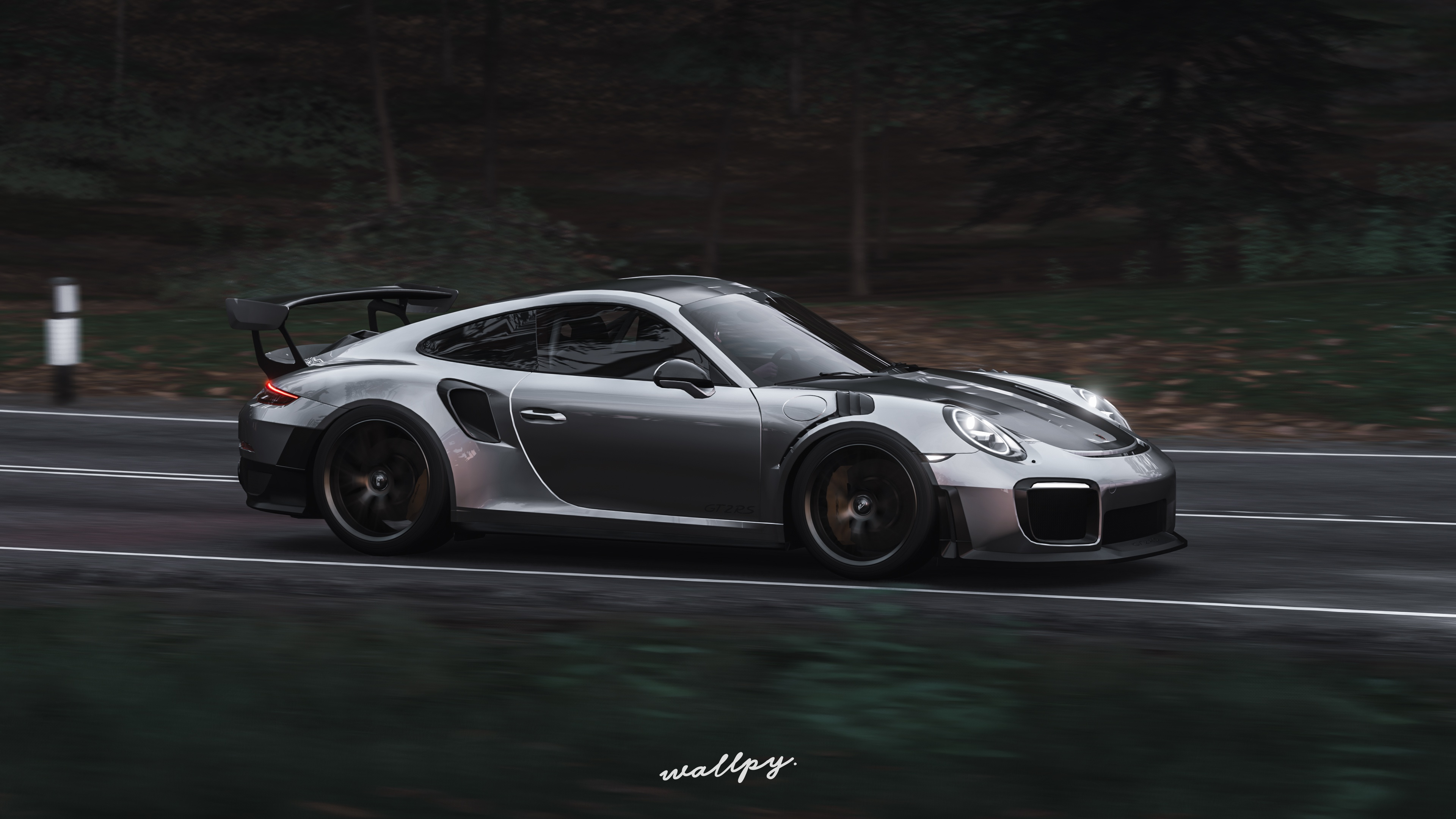 Pictures Forza Horizon 4 Porsche 911 Gt2 Rs By Wallpy 3d 3840x2160