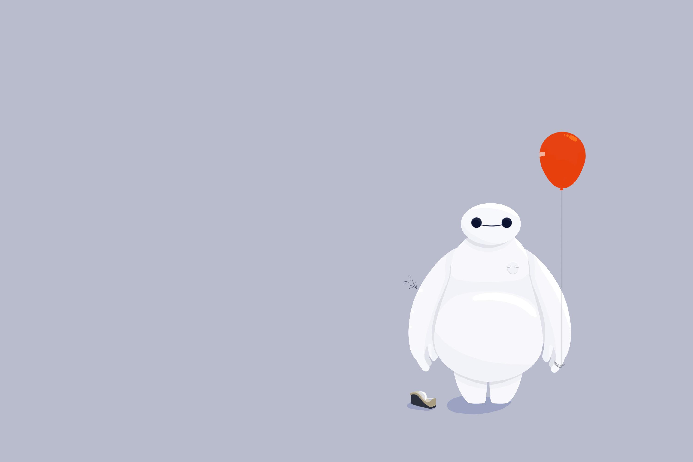 Pictures Robot Toy balloon Big Hero 6 Baymax Cartoons Vector Graphics robots balloons