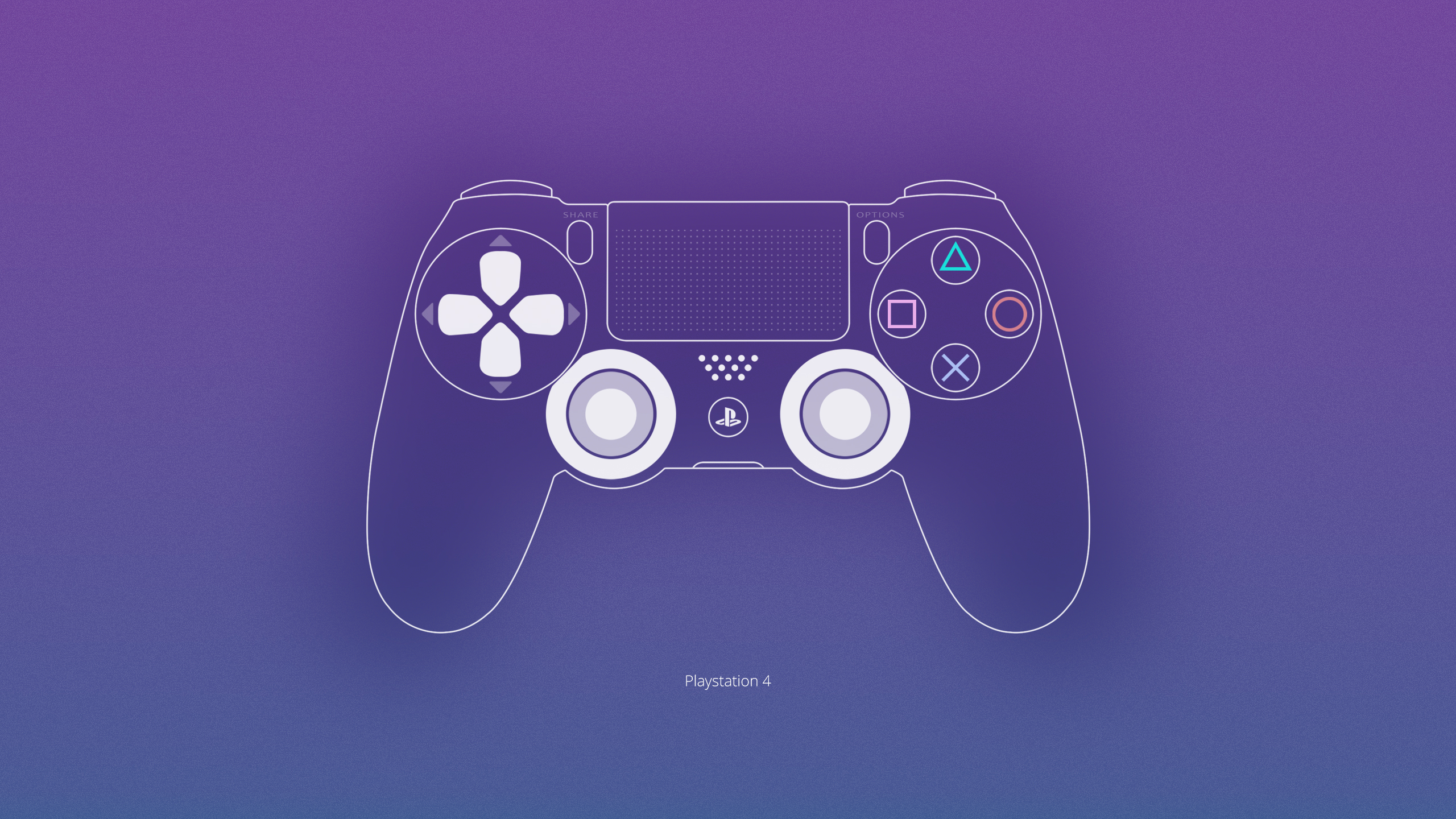 Pictures Gamepad Dualshock Console Ps4 Computers Painting