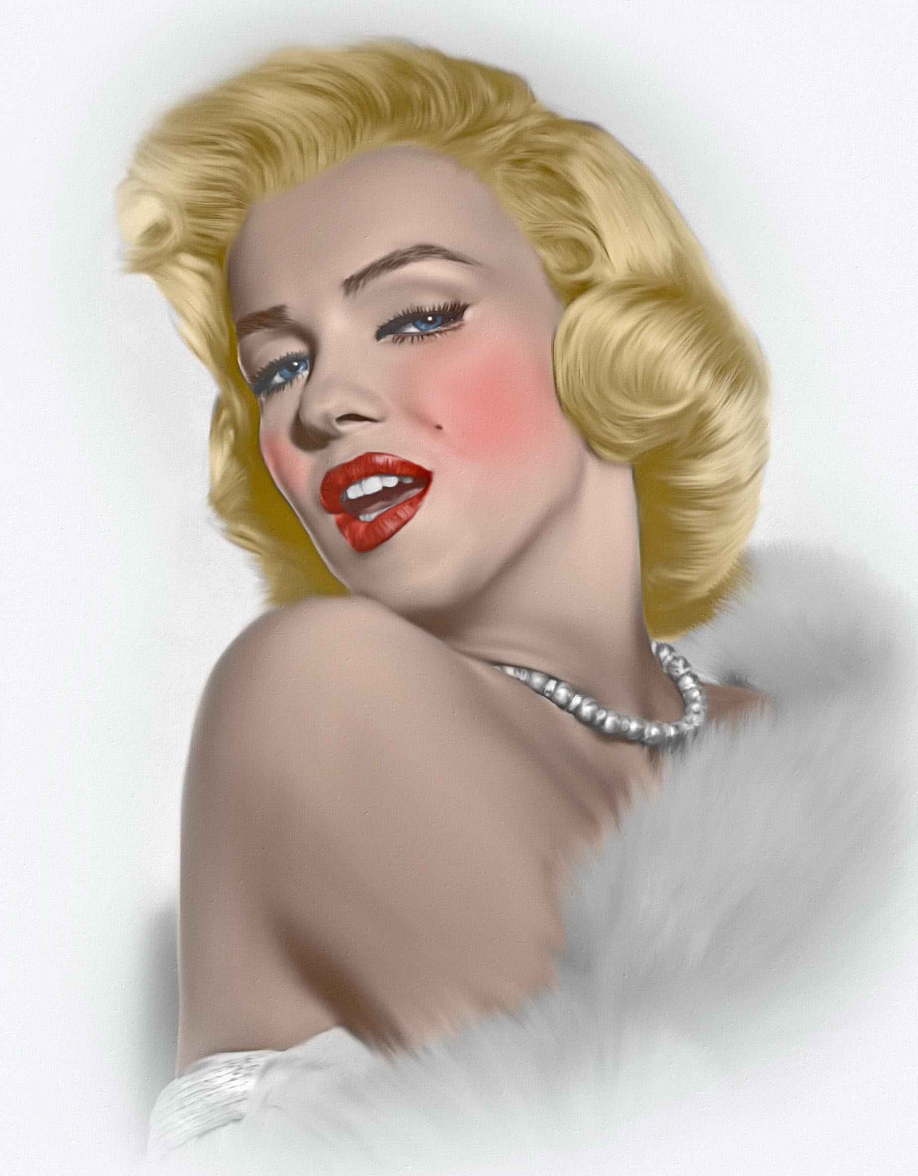 Image Marilyn Monroe Blonde Girl Young Woman Celebrities 1855x2376