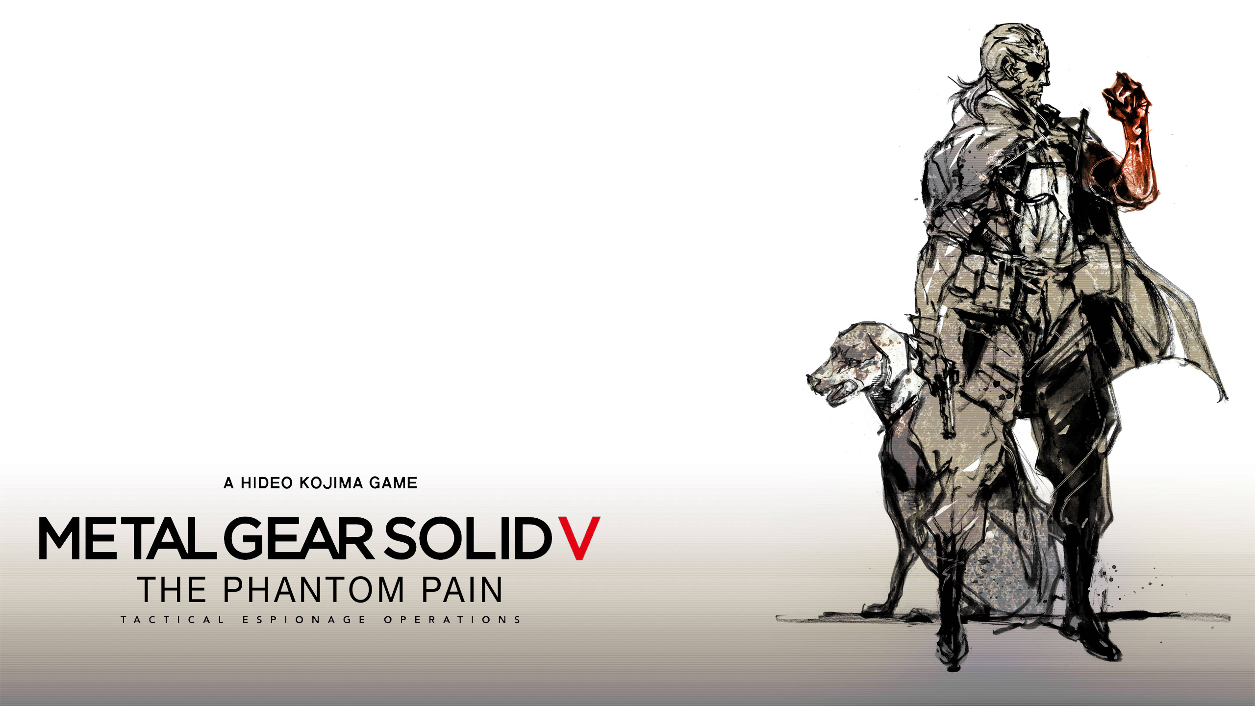 Desktop Wallpapers Metal Gear Dog Kojima Productions Art 2560x1440