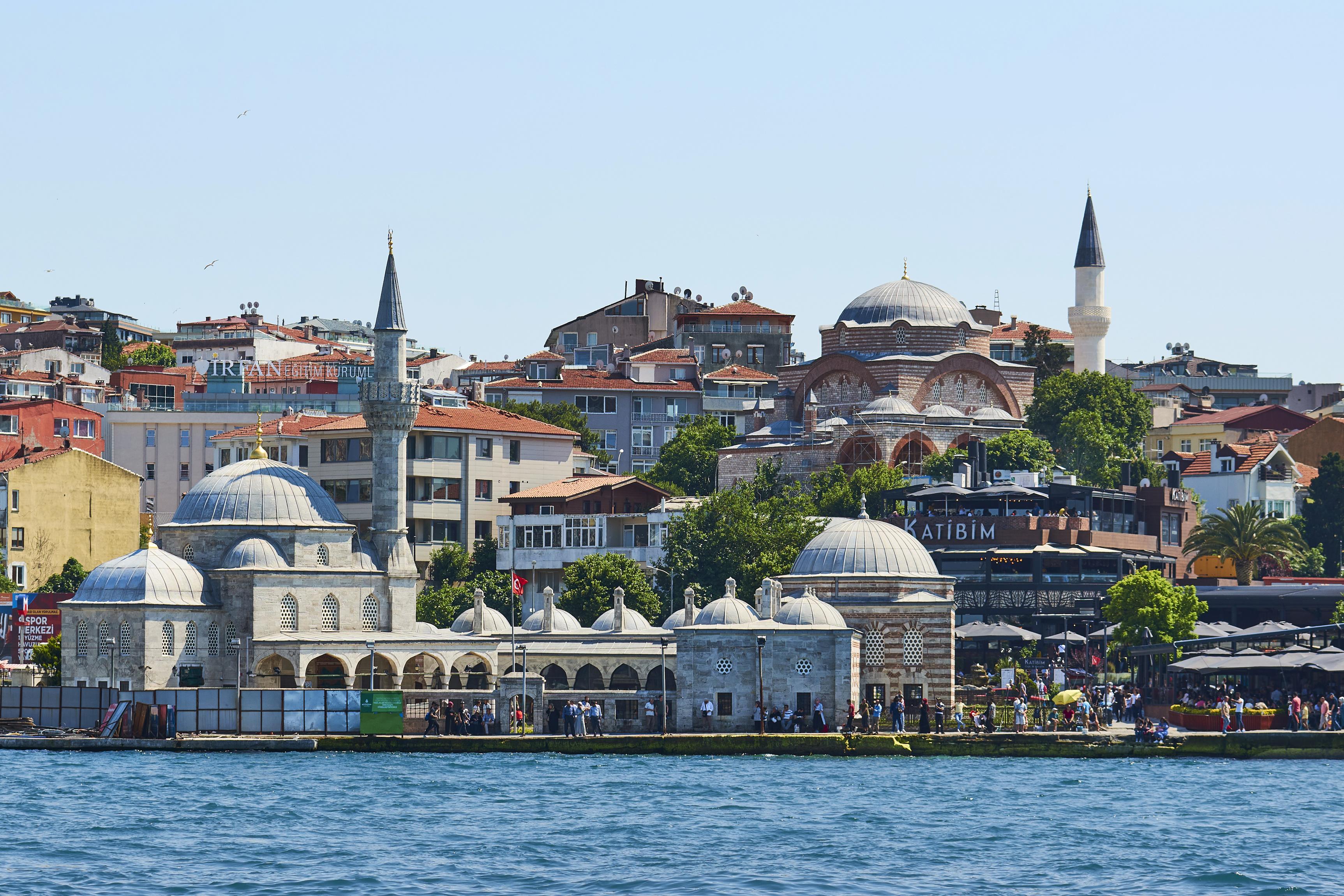 Bilder von Istanbul Türkei Küste Städte Gebäude 3450x2300 Haus