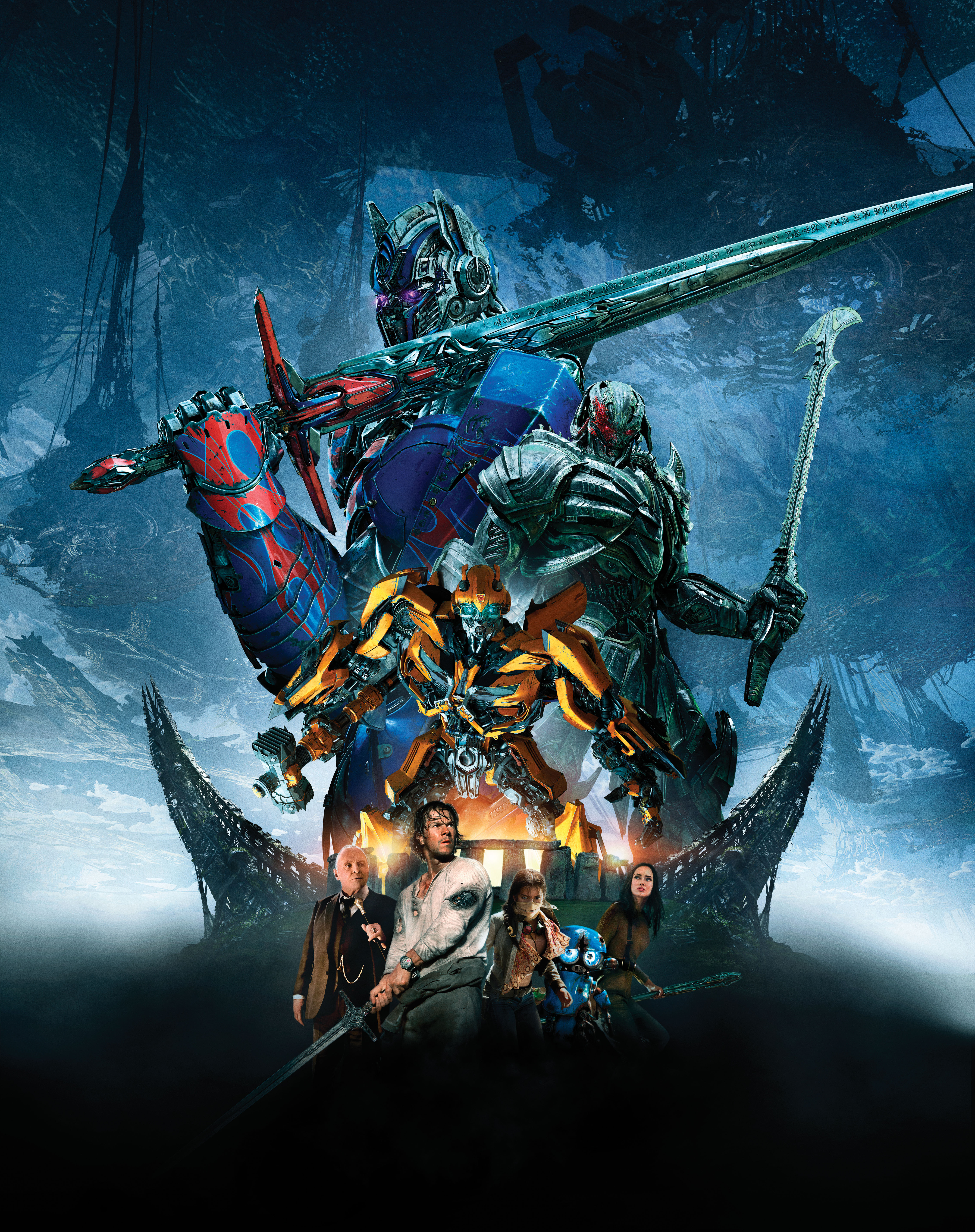 Image Transformers The Last Knight Swords Robot Warriors 5539x7000