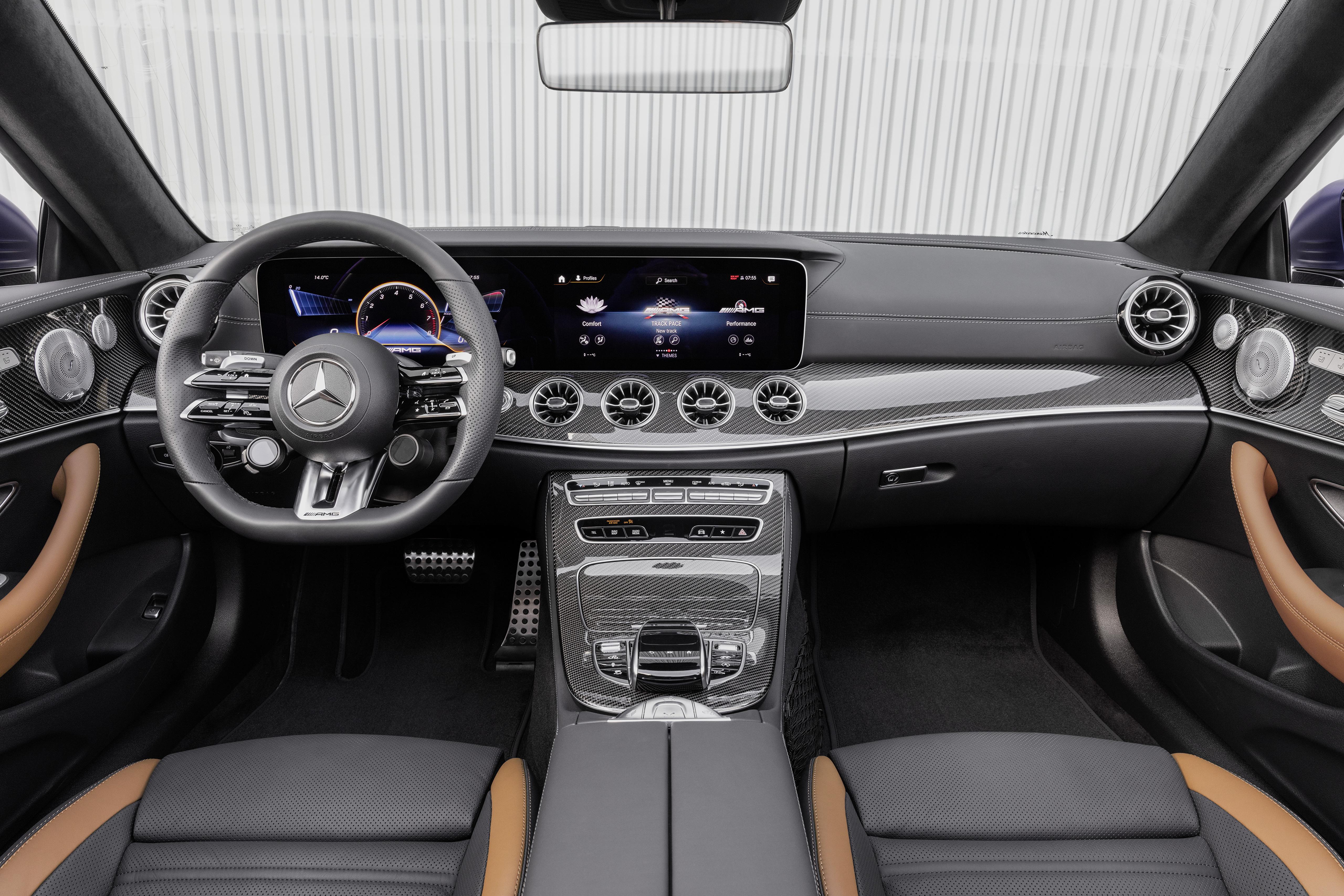 Foto Salons Mercedes-Benz Lenkrad E 53 4MATIC, Cabrio Worldwide, A238, 2020 Cabriolet Autos 5120x3413 auto automobil