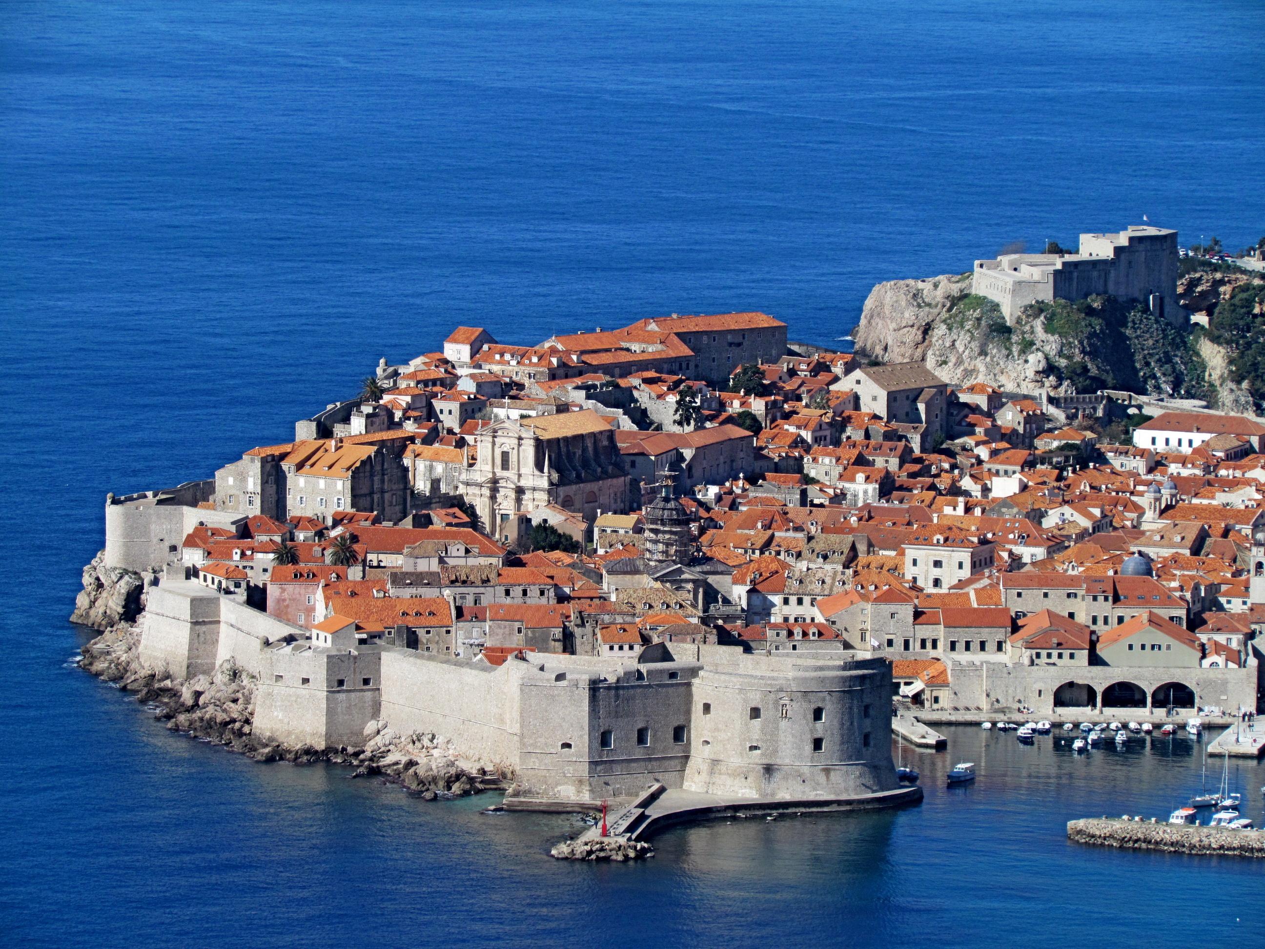 Picture Cities Croatia Houses Dubrovnik 2592x1944 Building