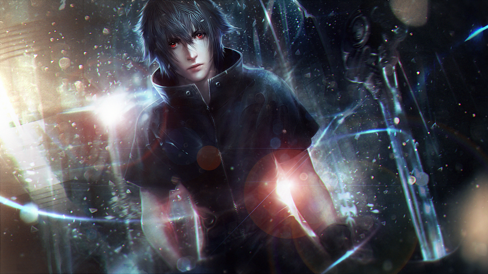 Desktop Wallpapers Final Fantasy Young Man Xv Noctis Lucis
