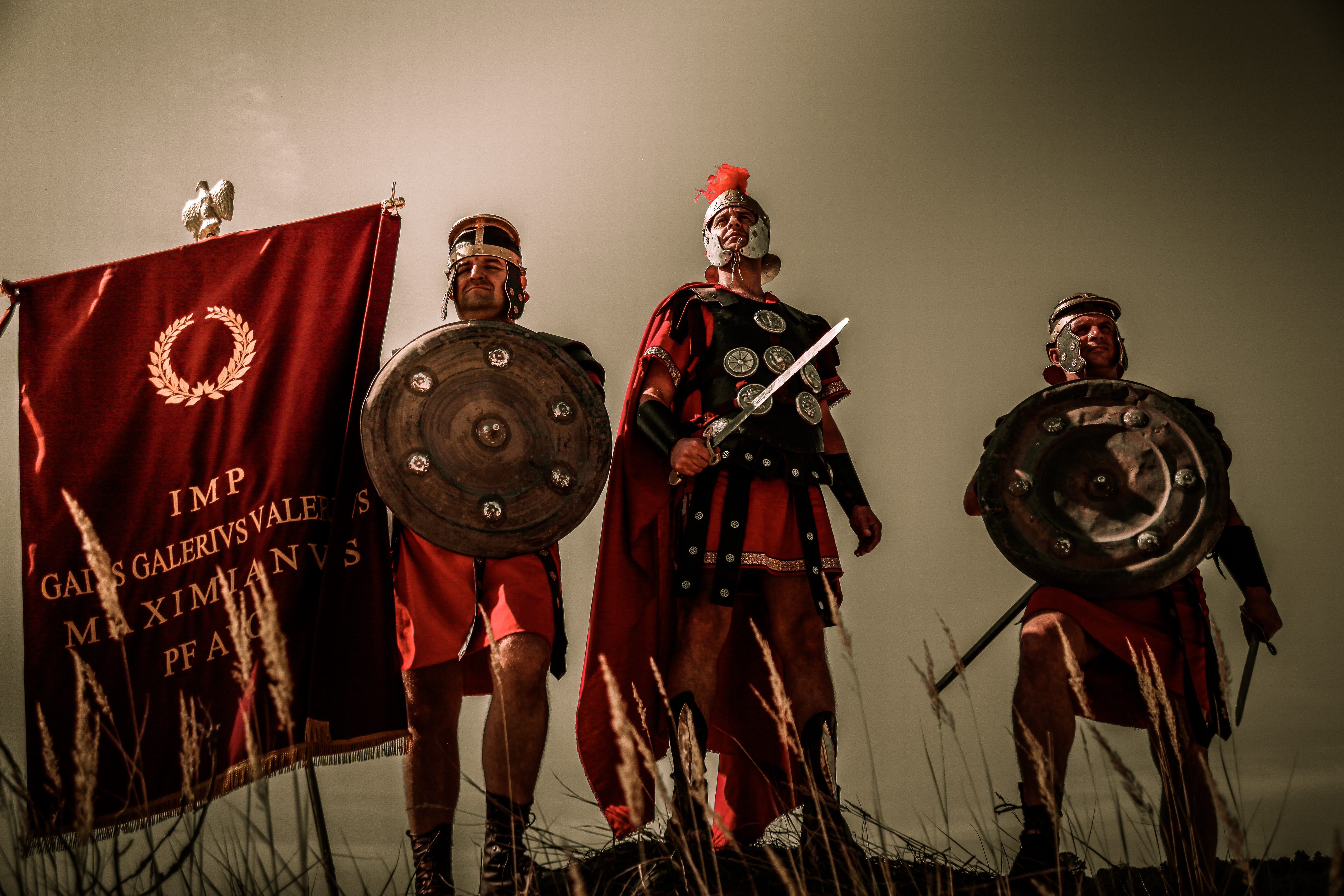 Image Armor Shield Swords Soldiers Warrior Rome Roman 5616x3744