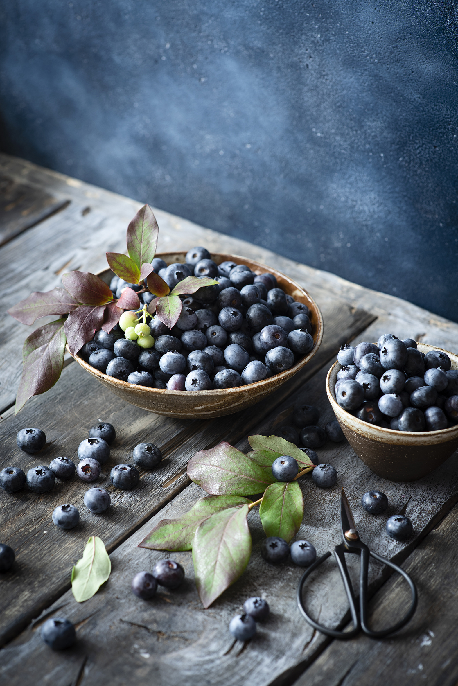 Image Bowl Blueberries Food boards  for Mobile phone Wood planks