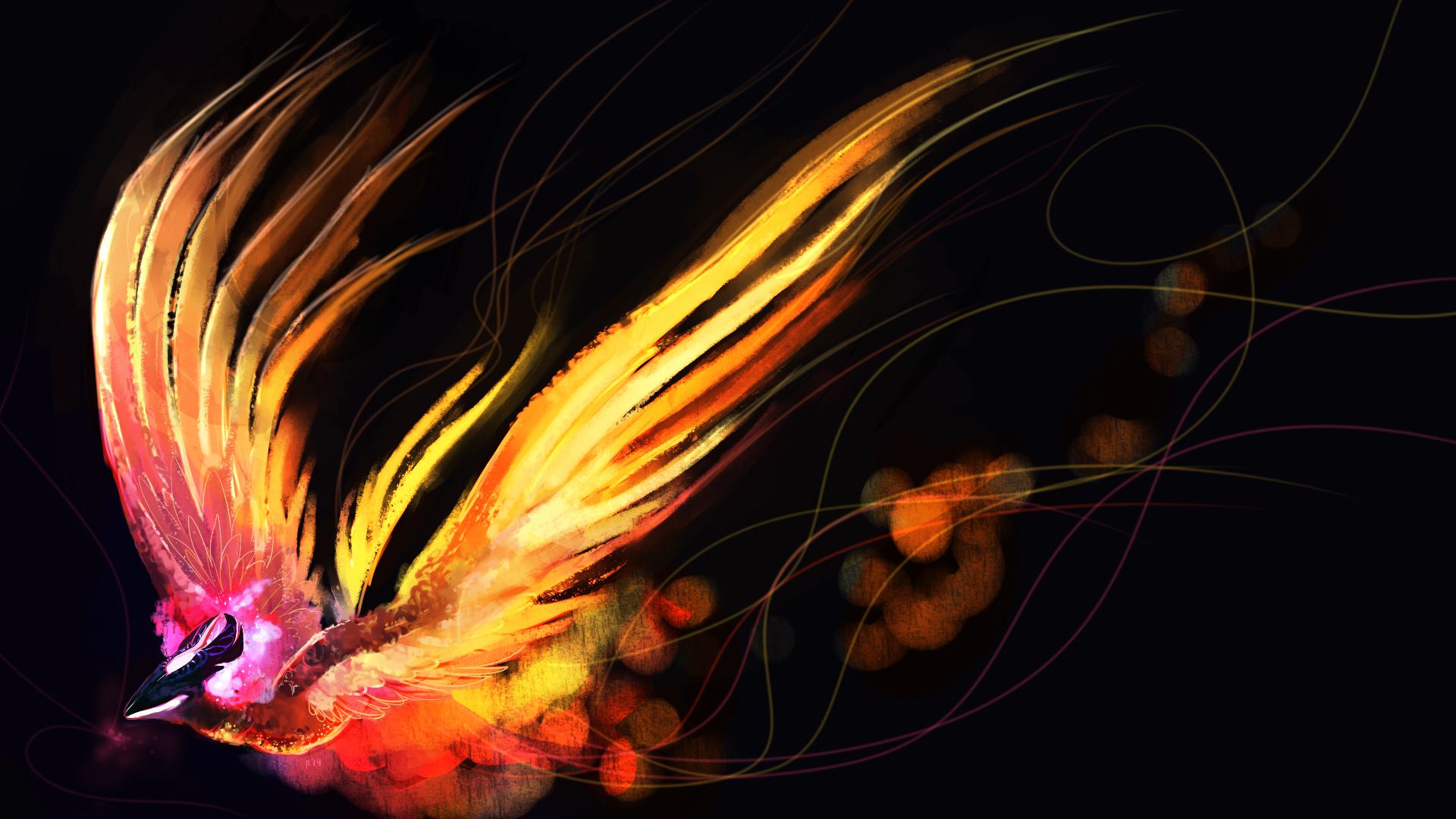 Picture fantasy dota 2 phoenix games phoenix mythology 1920x1080 - Fenix bird hd images ...