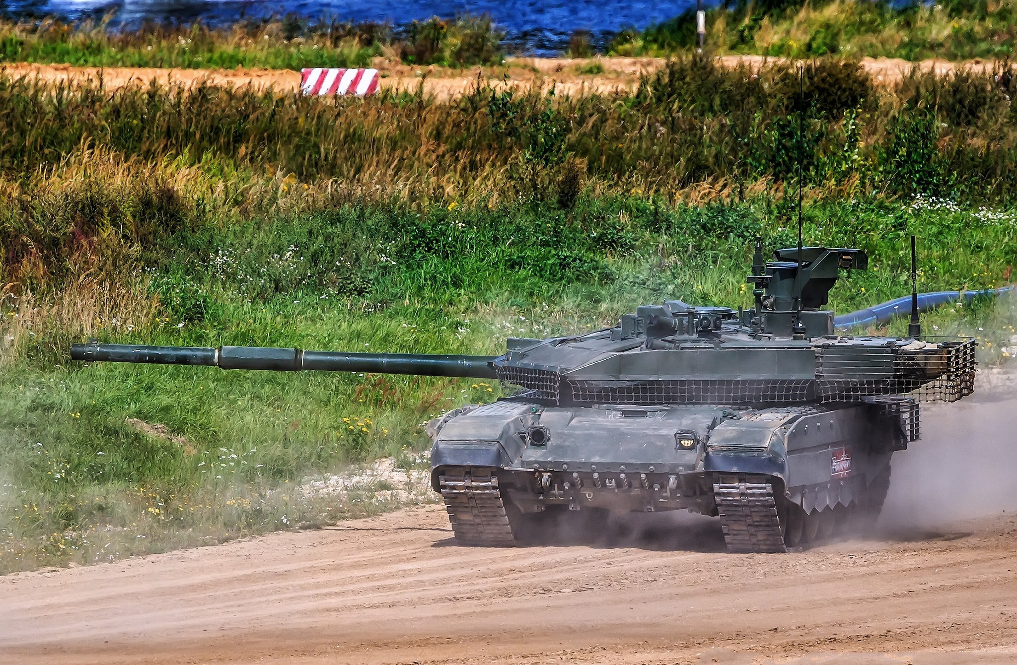 Image Tanks Russian T-90M military 2048x1340 tank Army