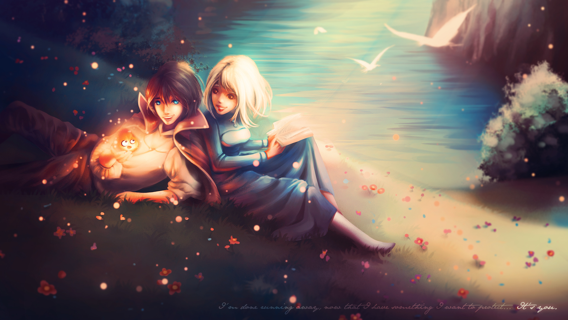 Image Young Man Howl S Moving Castle Howl Sophie 2 Anime 1920x1080