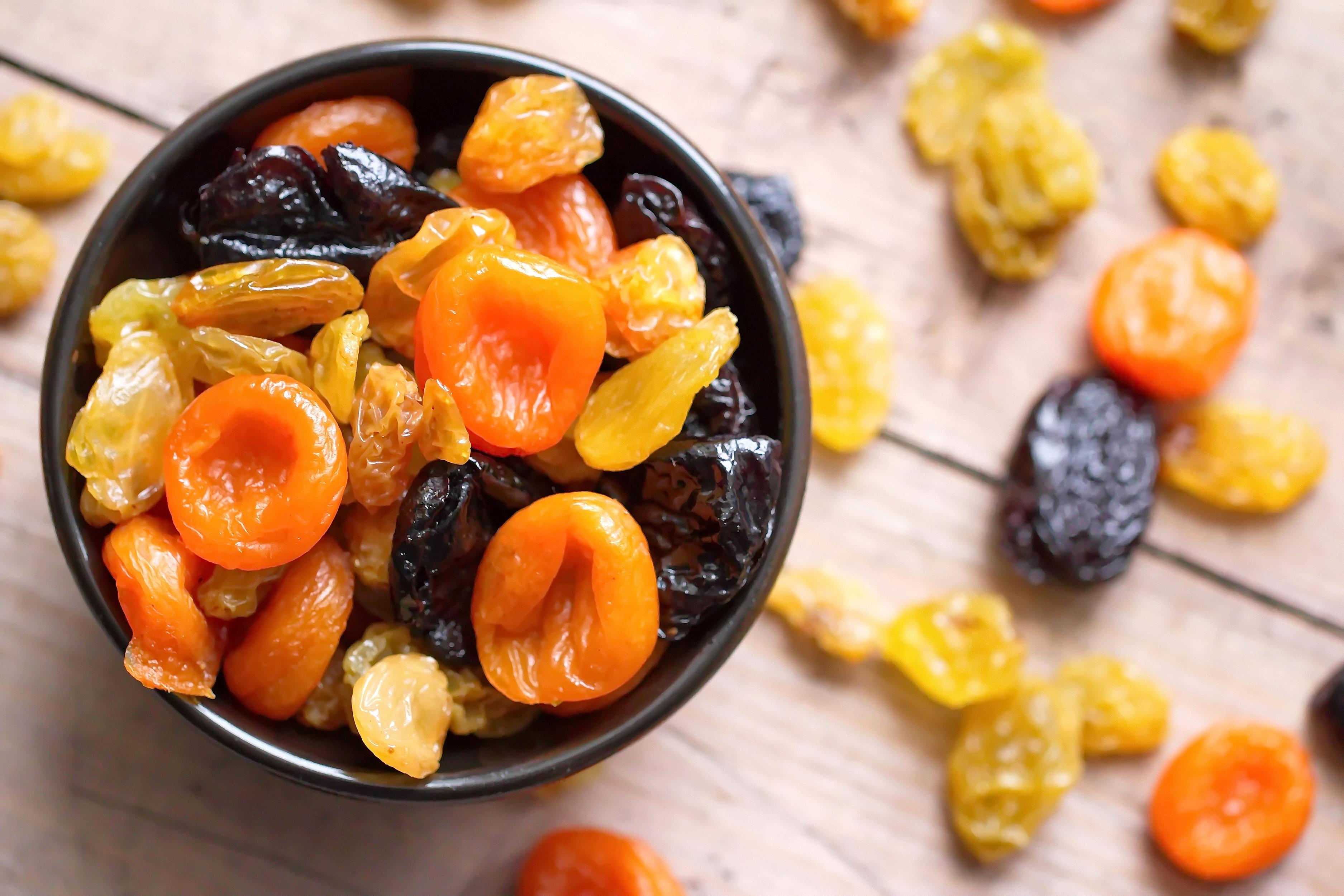 Рецепты похудения сухофруктами