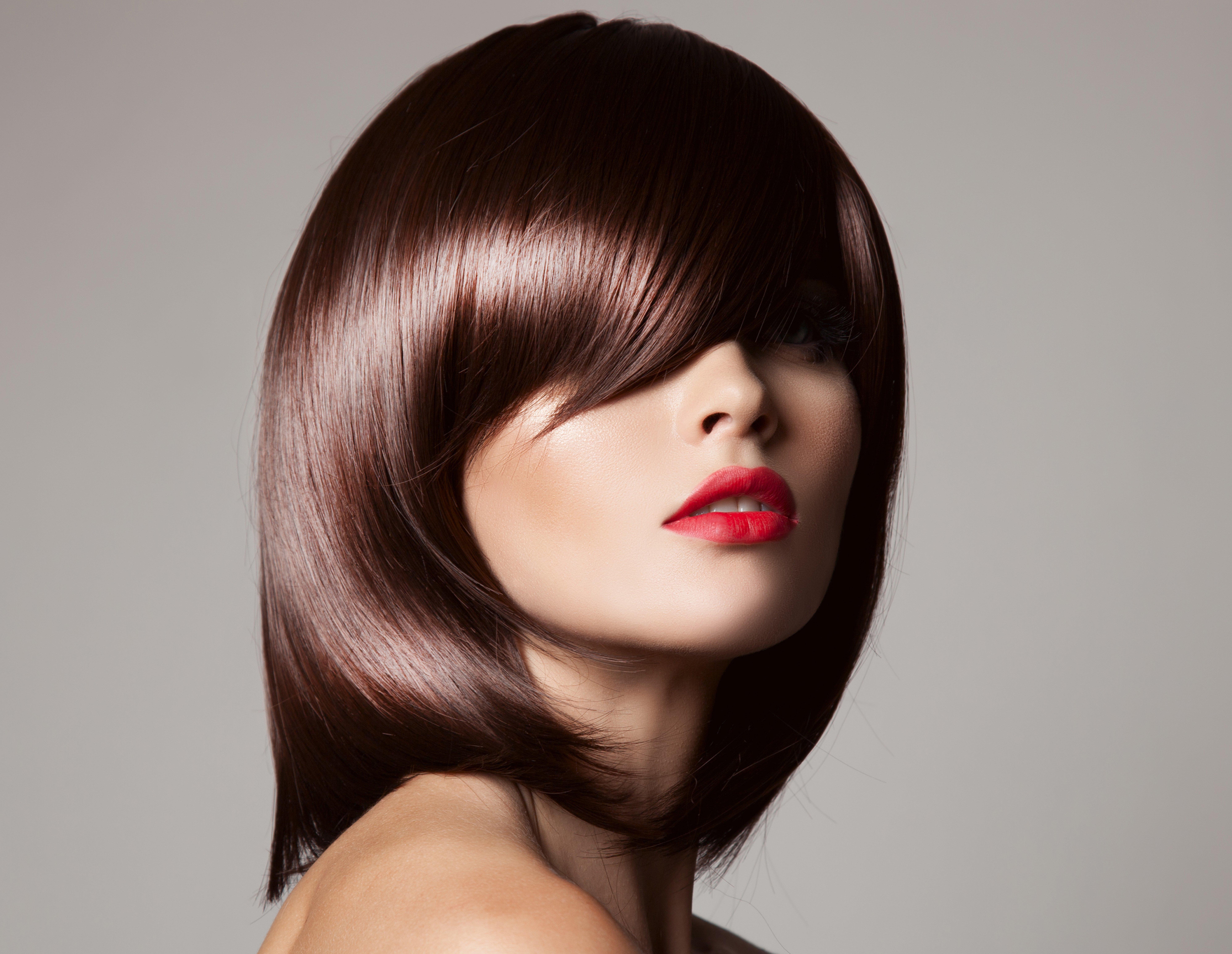Image female Brown haired Makeup Hair haircut 10x10